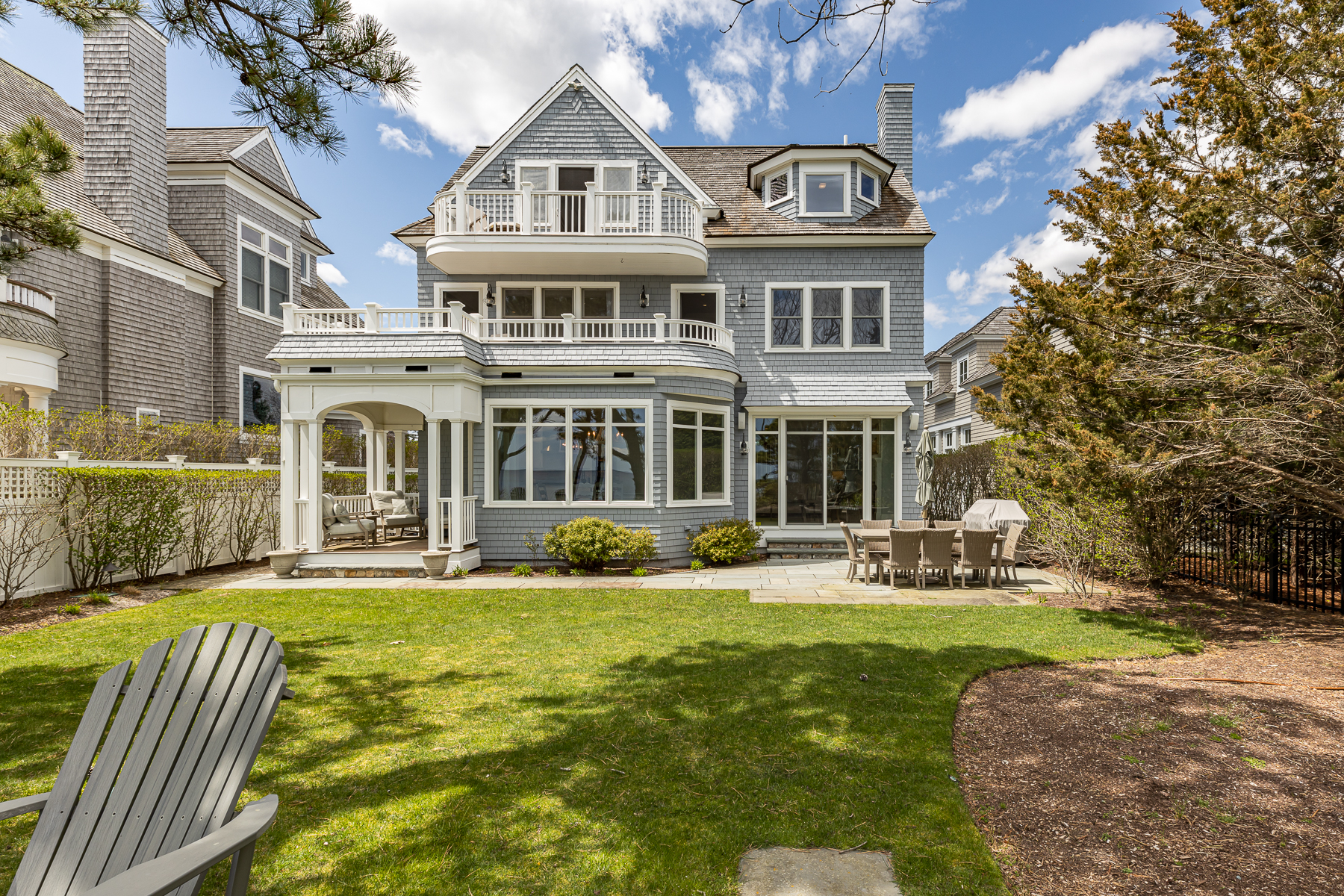 Single Family Homes for Active at EXQUISITE BEACH FRONT 23 Ocean Bluff Drive New Seabury, Massachusetts 02649 United States