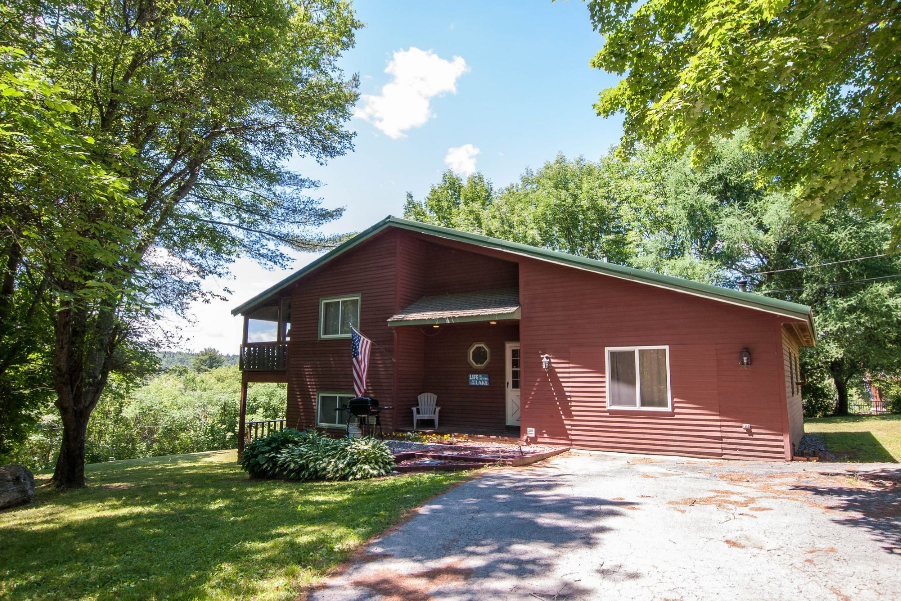 Single Family Home for Sale at Contemporary Lake House with Dock 135 Crystal Heights Rd Castleton, Vermont 05732 United States