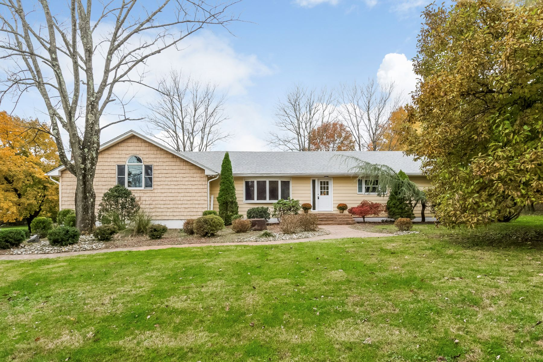 Single Family Home for Sale at Beautifully Renovated Expanded Ranch 2 Winding Brook Way, Titusville, New Jersey 08560 United StatesMunicipality: Hopewell Township