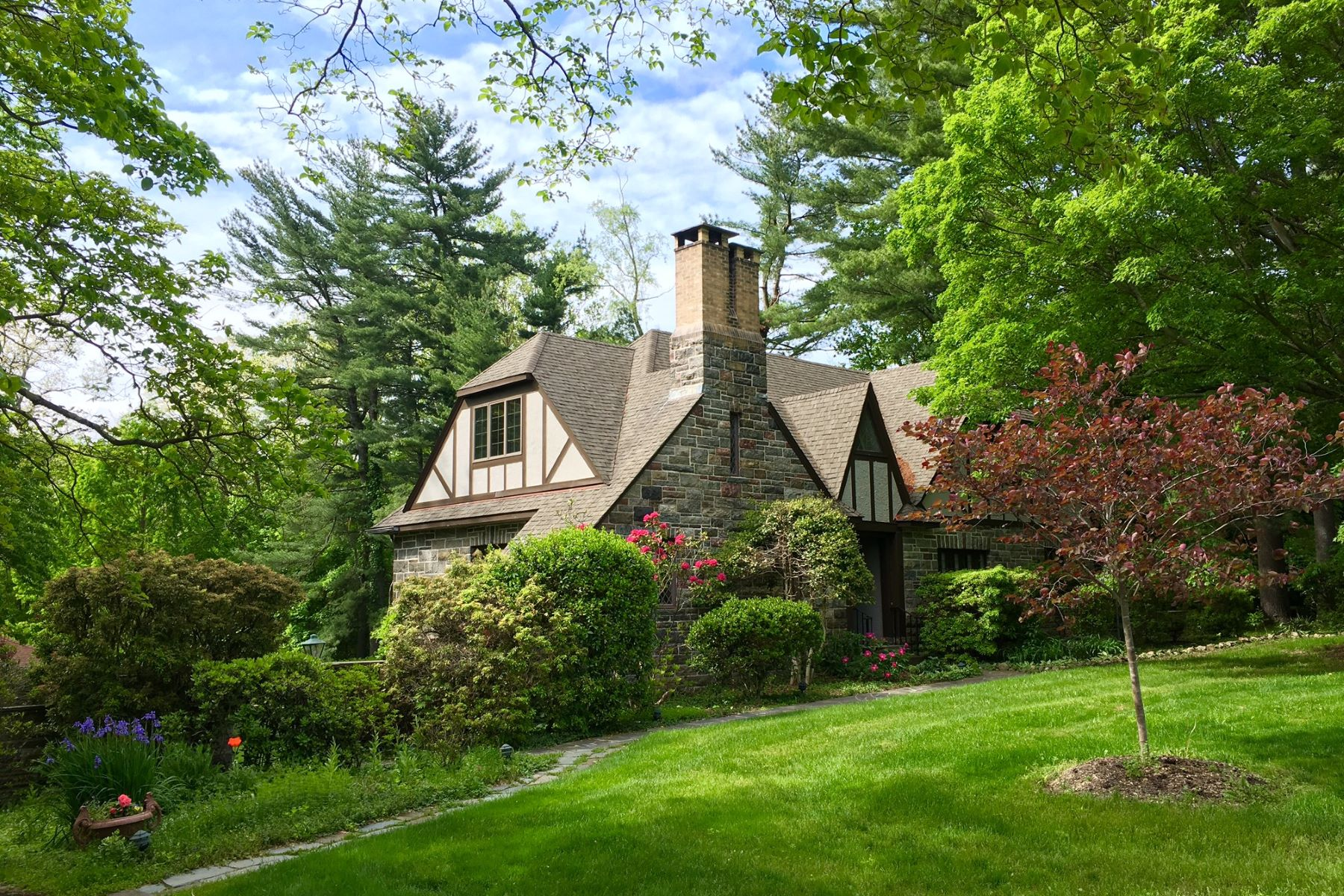 Single Family Home for Sale at c. 1925 Fieldstone Tudor 11 Mile Rd Montebello, New York, 10901 United States