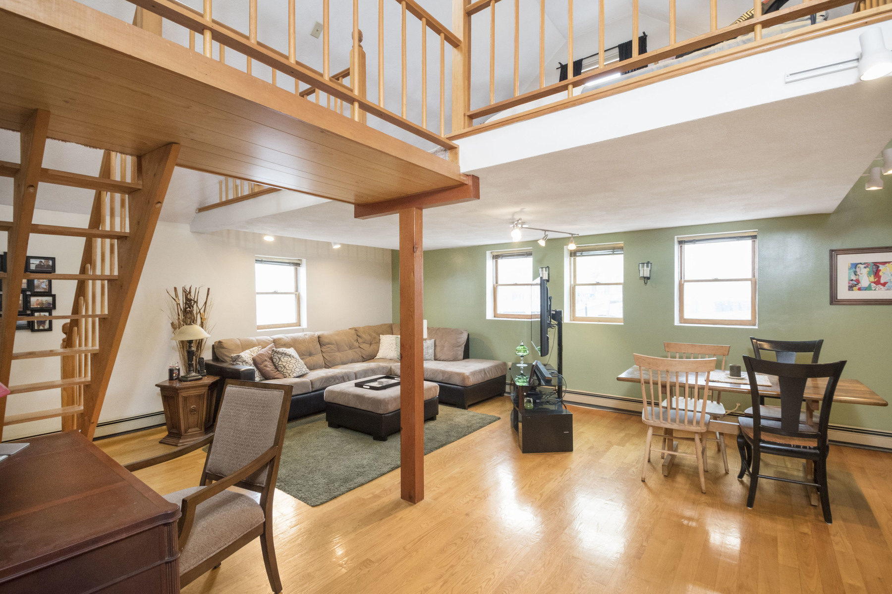 Condominium for Sale at Stunning Two Bedroom One Bath Loft With Garage Parking 177 Brooks Street - Unit C Boston, Massachusetts 02128 United States