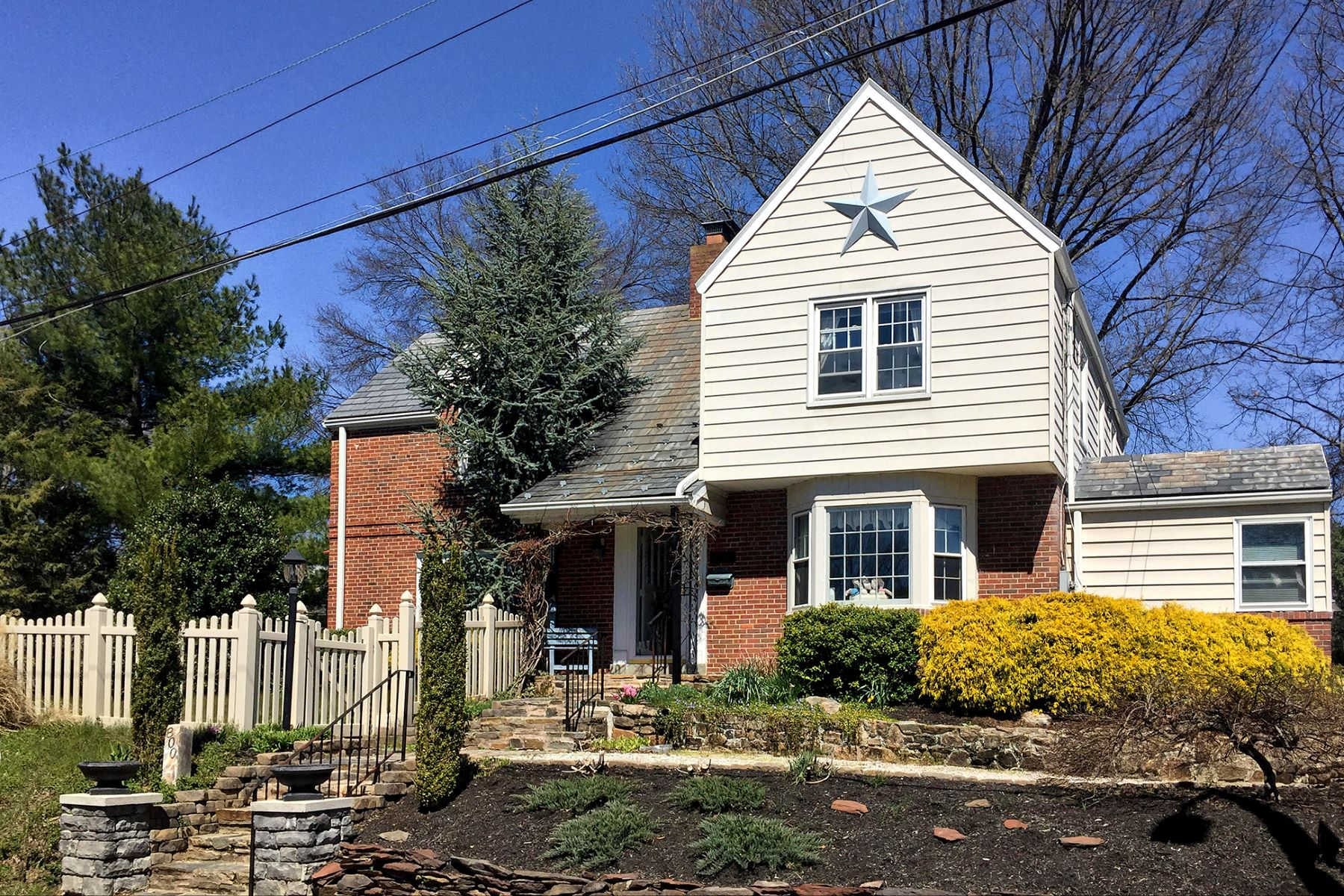 Single Family Home for Sale at Character, Charm, and Warmth Filled 1940s Home - Lawrence Township 800 Lawrence Road Lawrence, New Jersey 08648 United States