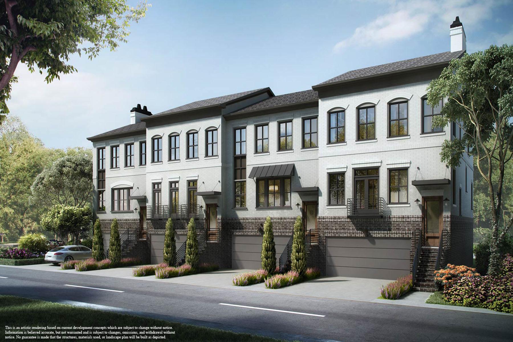 多棟聯建住宅 為 出售 在 Spacious, Sophisticated Townhomes in the Heart of Edgewood 1388 La France Street Lot #5 Atlanta, 喬治亞州, 30307 美國