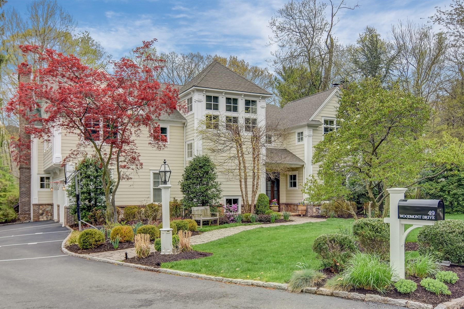 一戸建て のために 売買 アット Spectacular Colonial 49 Woodmont Drive Chatham, ニュージャージー, 07928 アメリカ合衆国