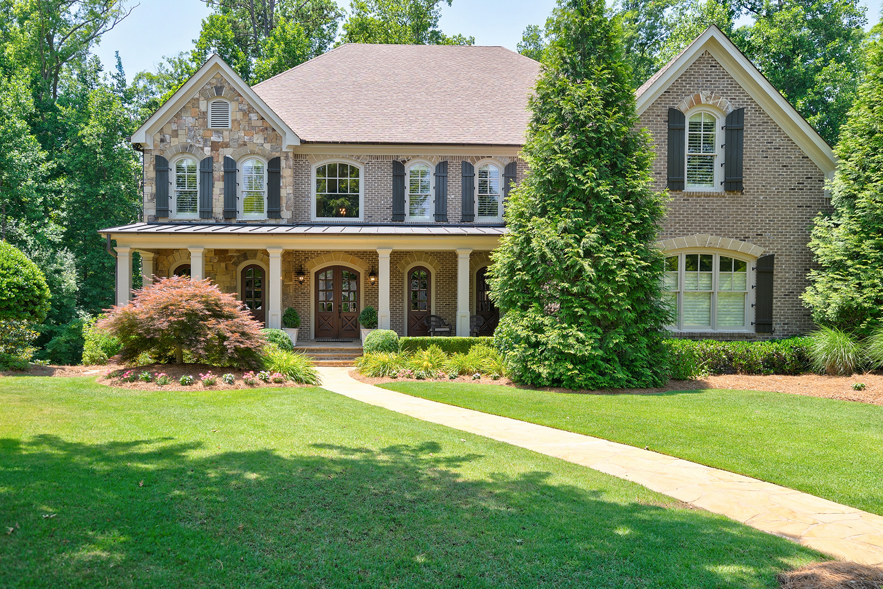 Single Family Homes للـ Sale في Custom Home With Four Finished Levels 4380 Loblolly Trl, Peachtree Corners, Georgia 30092 United States