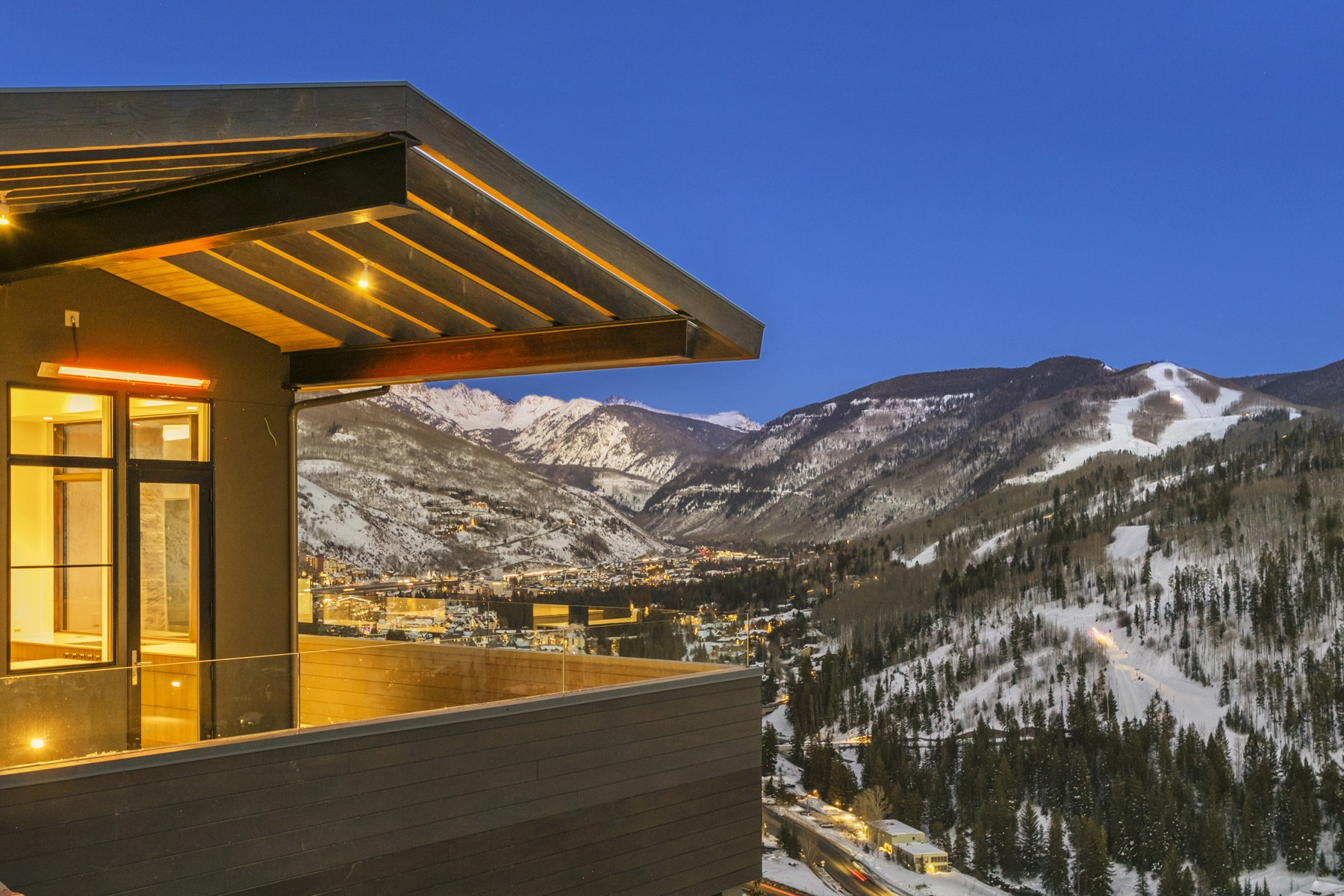 Single Family Homes for Sale at Stunning views of the Gore Range 1450 Buffehr Creek Road Vail, Colorado 81657 United States