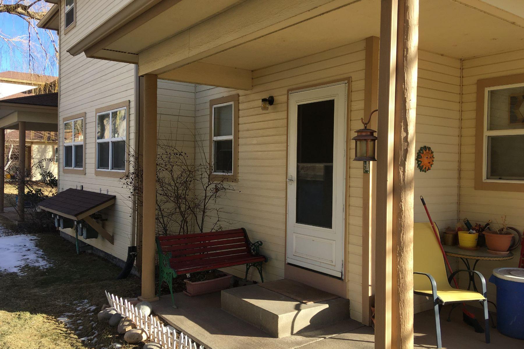 단독 가정 주택 용 매매 에 Apple Glen Townhome 824 Red Valley Drive, D, Glenwood Springs, 콜로라도, 81601 미국