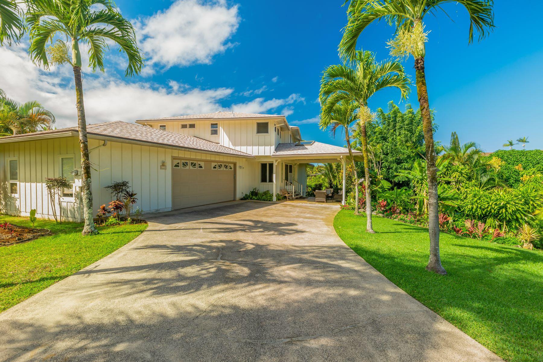 Single Family Homes 為 出售 在 Princeville, 夏威夷 96722 美國