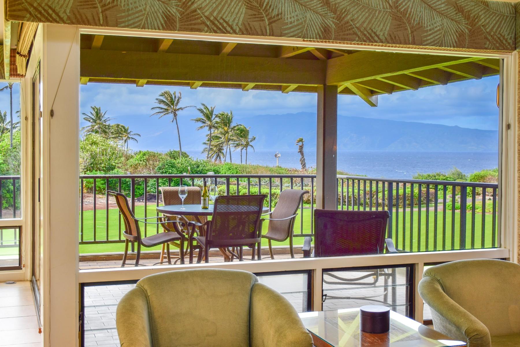 Condominiums 용 매매 에 LIVE... KAPALUA ... The Bay Villas............ 500 Bay Dr, Kapalua Bay Villas #38B2, Kapalua, 하와이 96761 미국