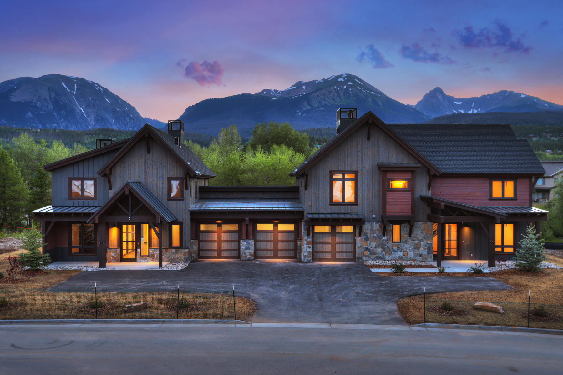 Duplex Homes for Sale at Lot 3 in Waters at Silver Trout 654 Fly Line Drive Silverthorne, Colorado 80497 United States