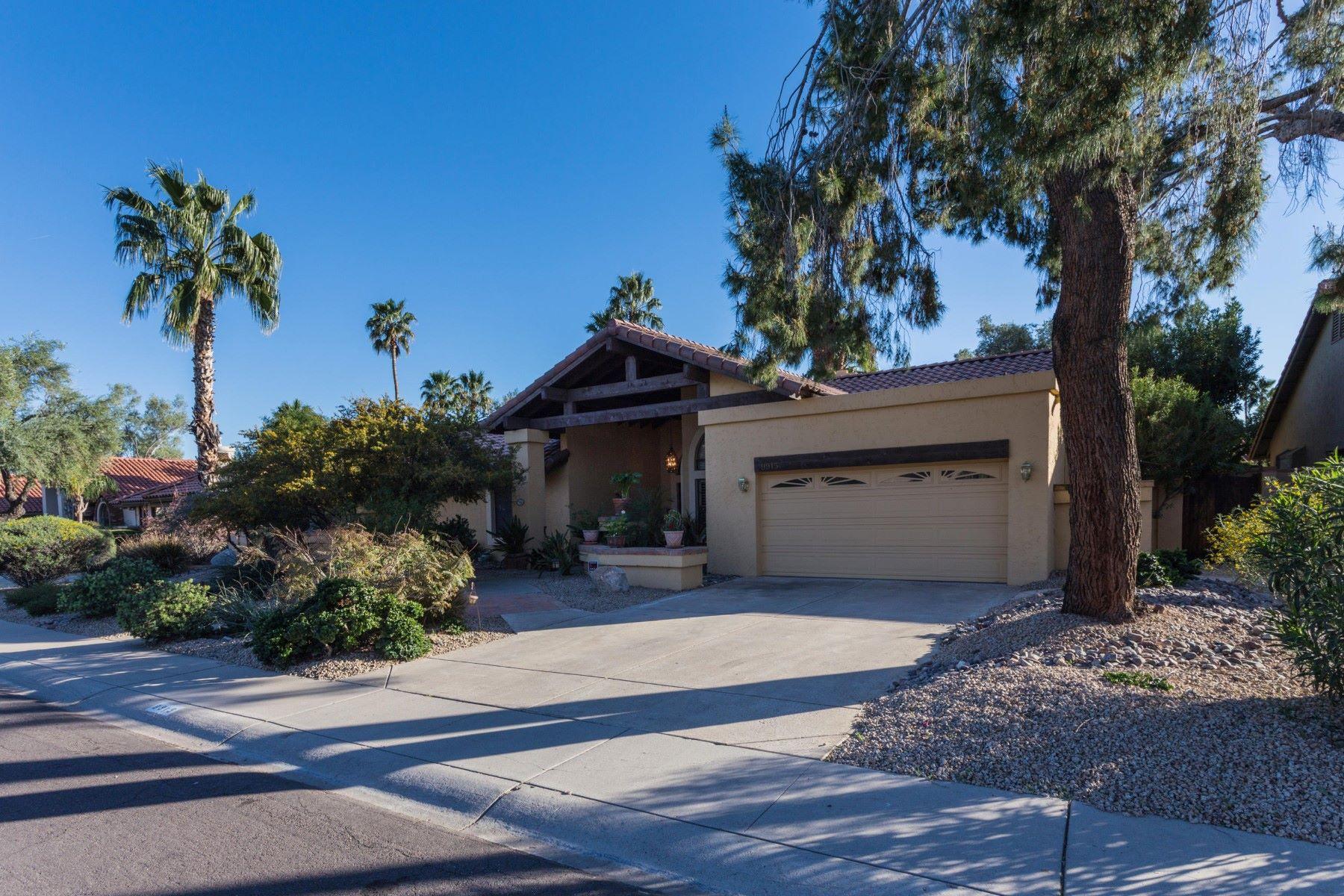 Maison unifamiliale pour l Vente à Charming Scottsdale Ranch home 9915 E Cinnabar Ave Scottsdale, Arizona, 85258 États-Unis