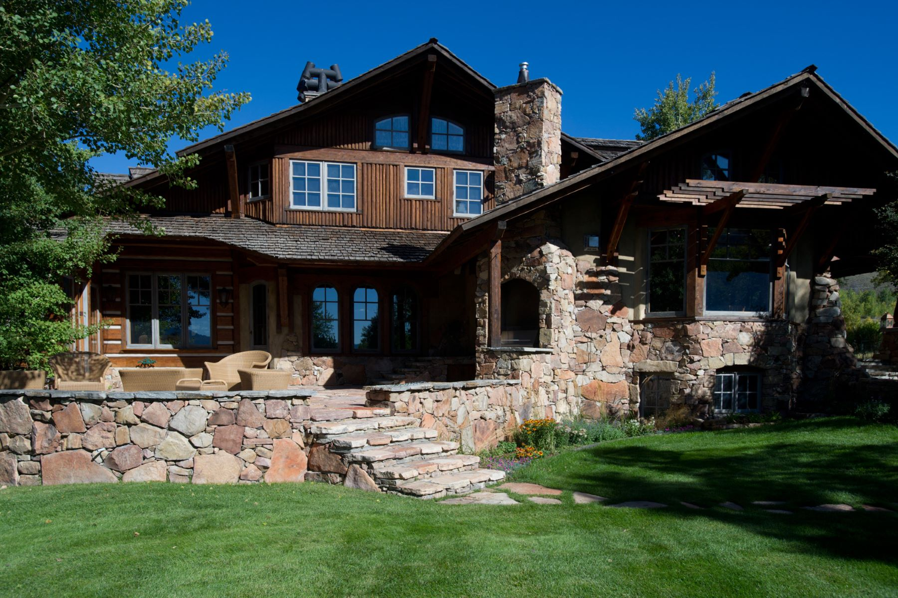 Single Family Home for Sale at Riverbend Ranch 13675 S River Bend RD Jackson, Wyoming 83001 United States