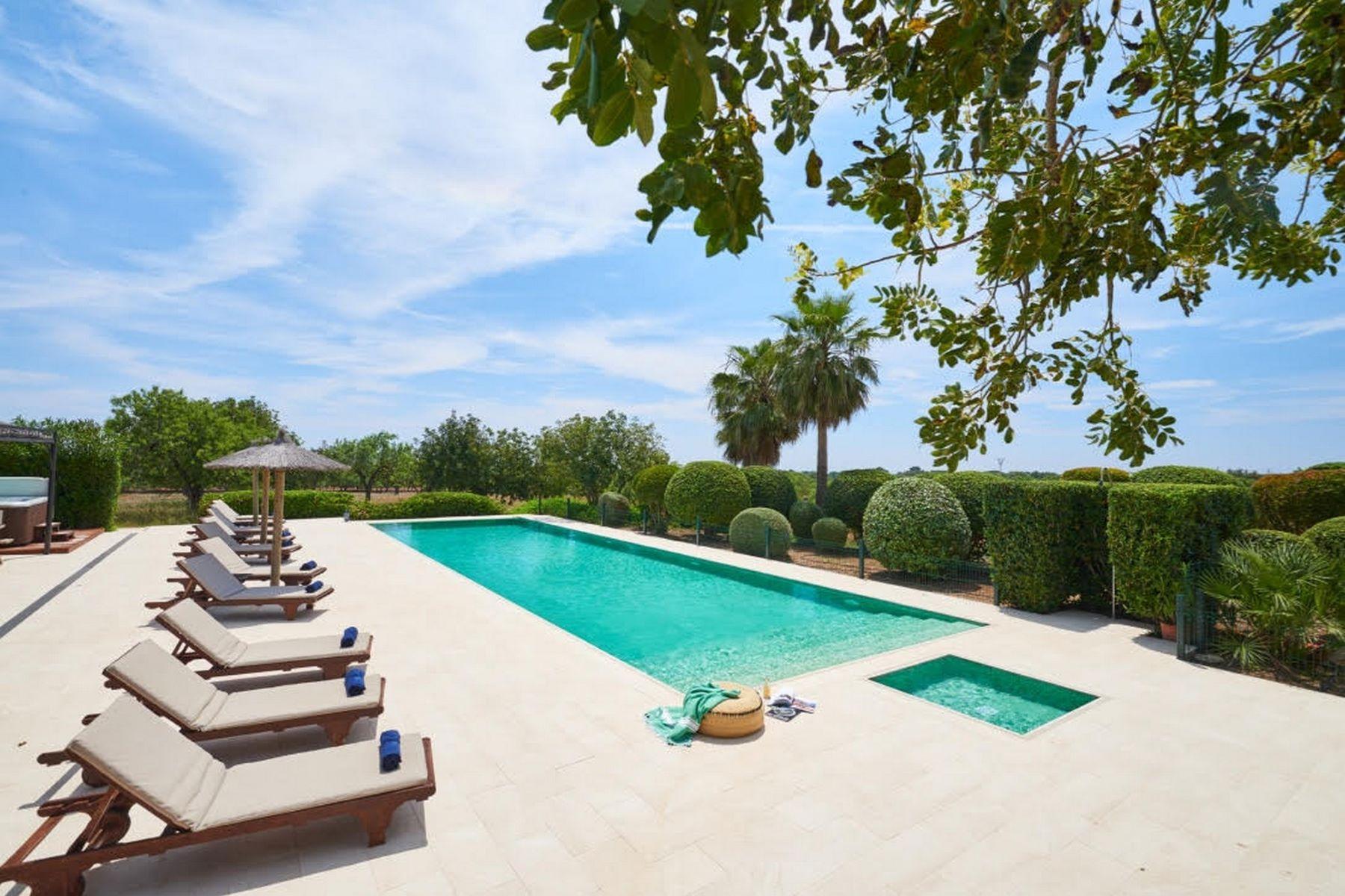 Single Family Home for Rent at Stunning villa in Porto Colom Porto Colom, Mallorca Spain
