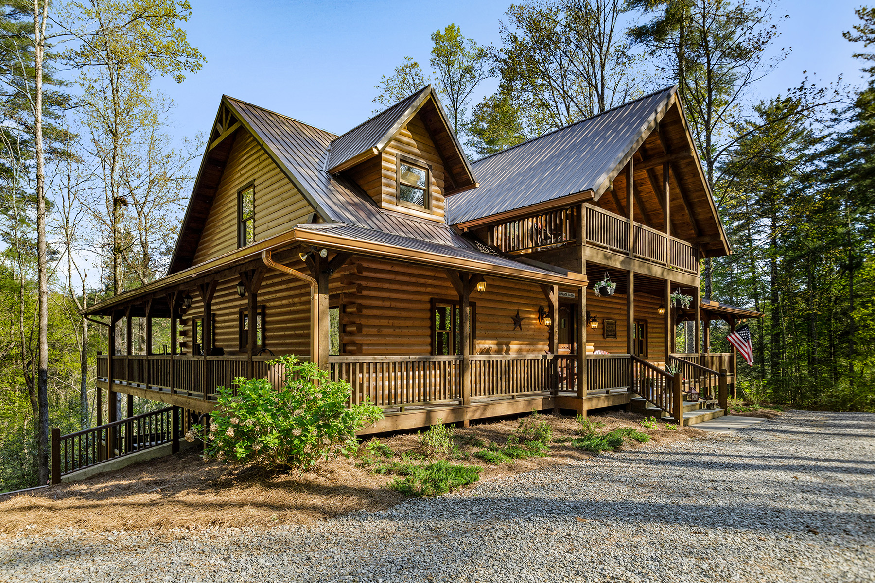 Single Family Homes for Sale at Indulge In Completely Self Sustained Luxury Mountain Property and Rustic Living 1011 Conasauga Road Ellijay, Georgia 30540 United States