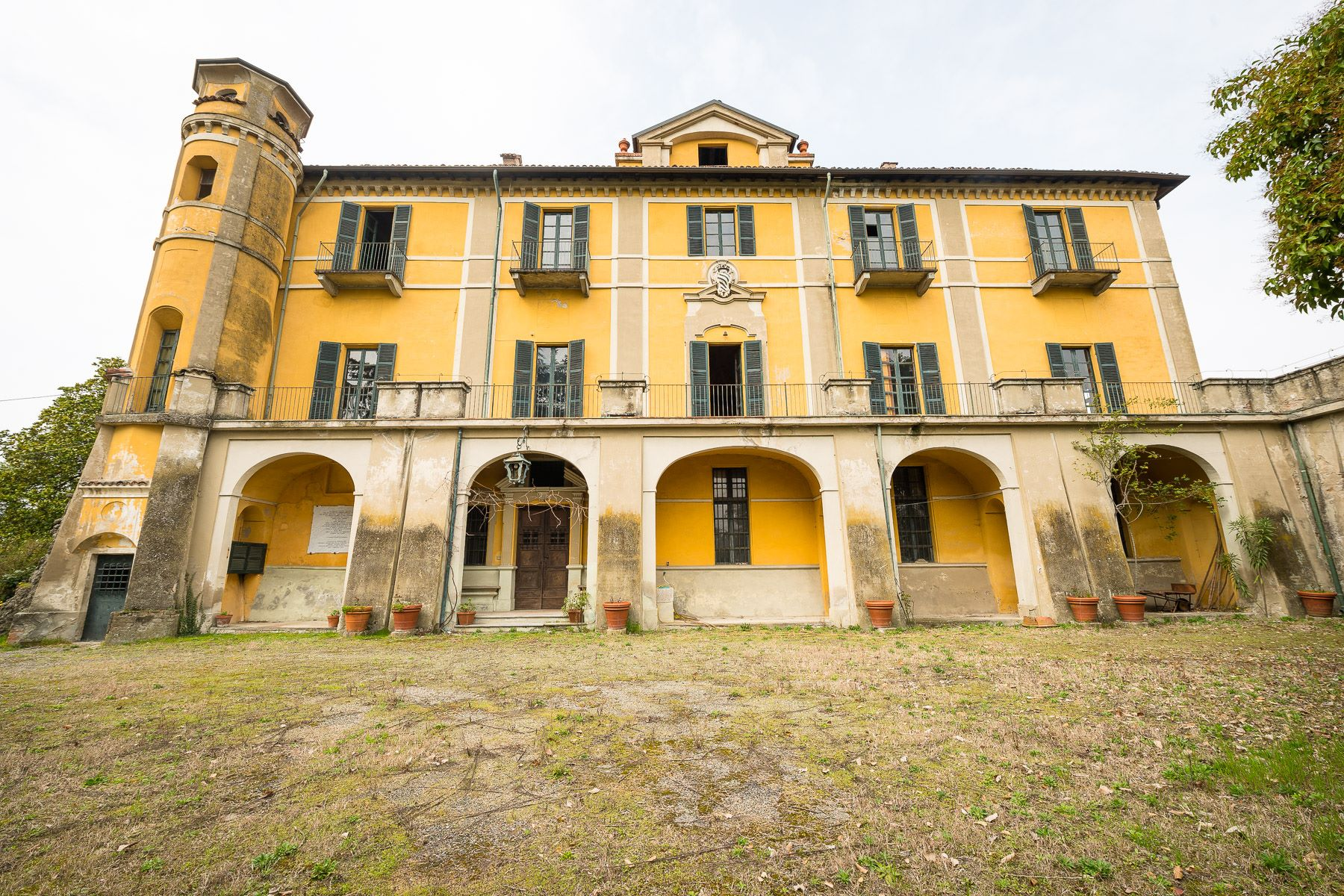 Single Family Home for Sale at Piedmont's baroque Villa in Moncestino Other Alessandria, Alessandria Italy