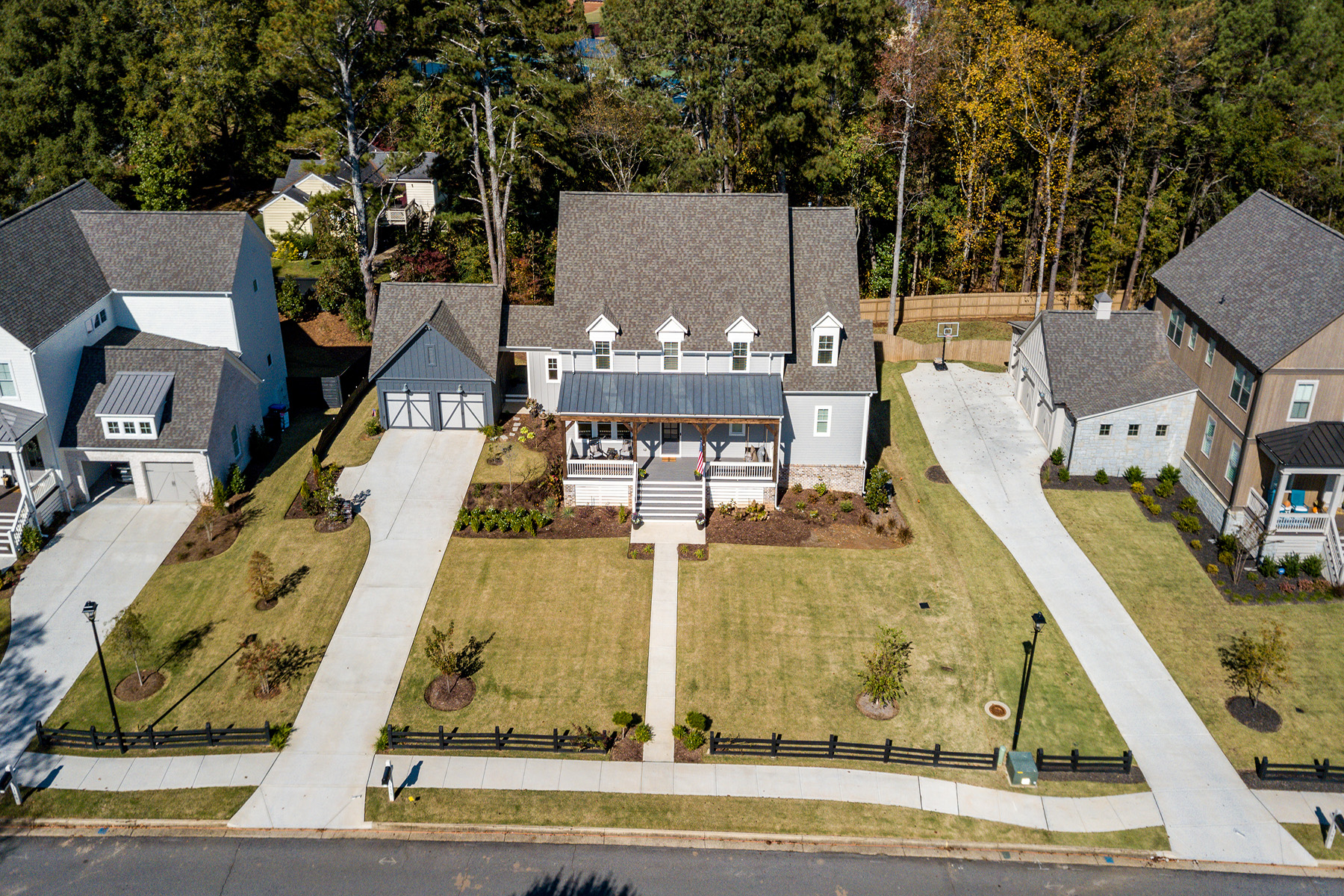 Single Family Home for Sale at Contemporary Farmhouse Style 1155 Allenbrook Ln Roswell, Georgia 30075 United States