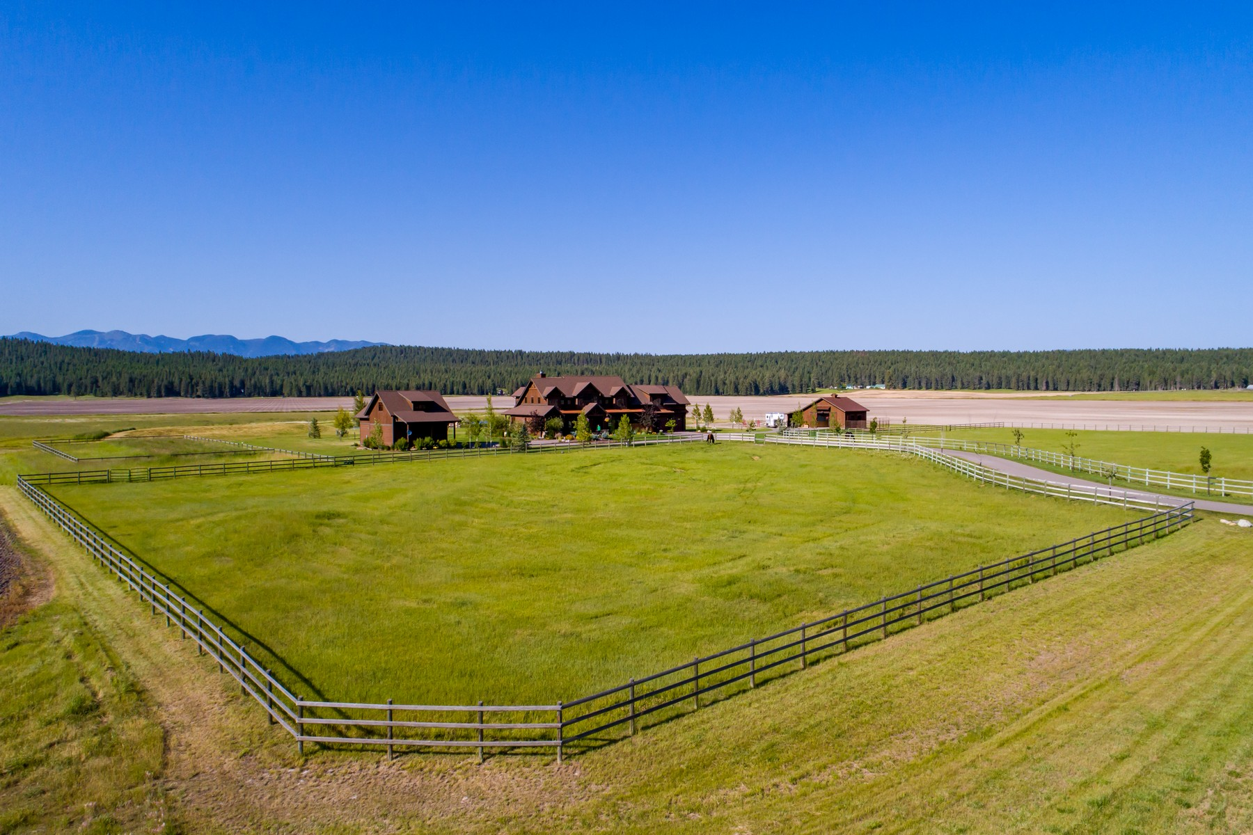 Single Family Homes for Sale at 1729 Spring Prairie Ranch Rd Whitefish, Montana 59937 United States