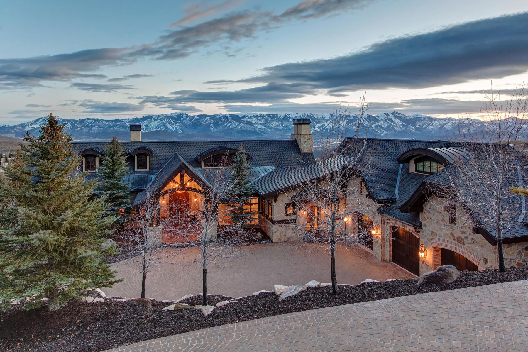 獨棟家庭住宅 為 出售 在 Top of the World Views 3724 Central Pacific Trl, Park City, 猶他州, 84098 美國