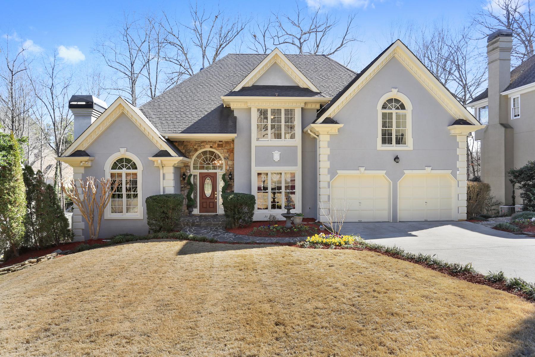 一戸建て のために 売買 アット Picture Perfect In Vinings Glen 4271 Ridgehurst Drive SE Smyrna, ジョージア, 30080 アメリカ合衆国