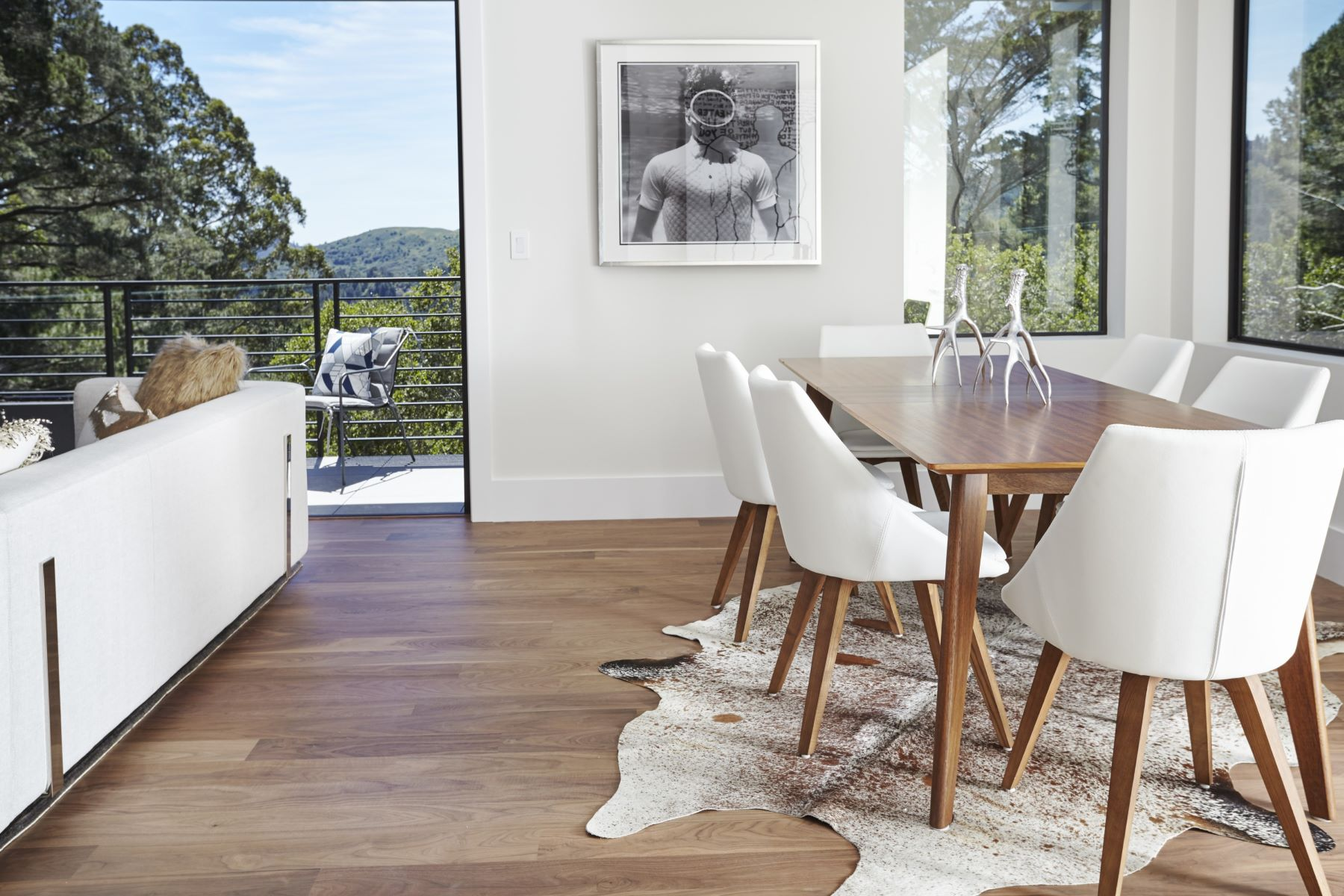 Single Family Home for Sale at New Construction in Mill Valley - a Modern Masterpiece 575 Summit Avenue Mill Valley, California 94941 United States