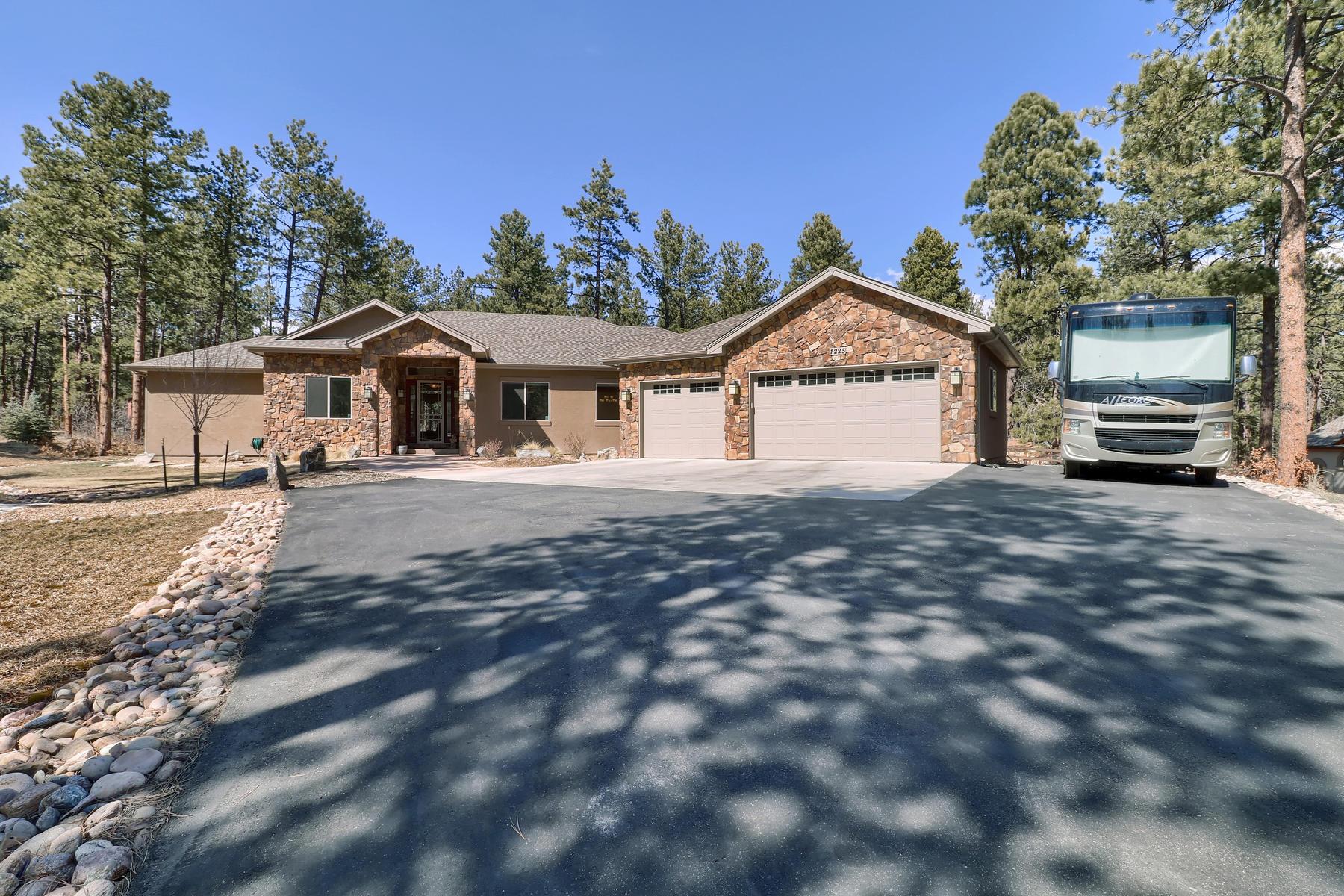 واحد منزل الأسرة للـ Sale في 1225 Hoosier Dr Sage Port, Larkspur, Colorado, 80118 United States