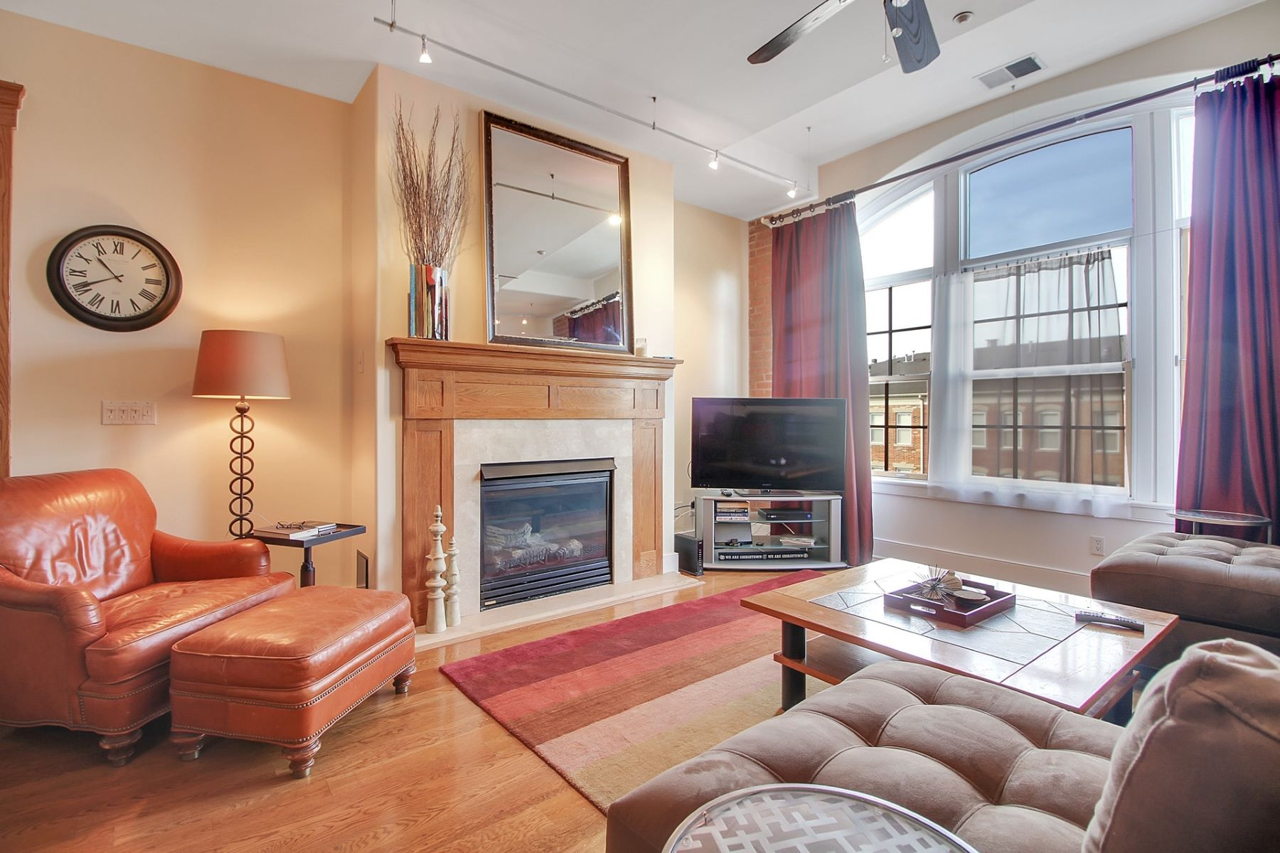 Apartment for Rent at Your Passport to Luxury! The Sugar House 174 Washington Street #4E, Jersey City, New Jersey 07302 United States