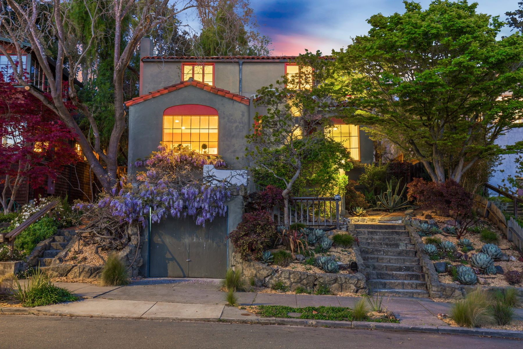 Property for Sale at Enchanting North Berkeley Home 1157 Oxford Street Berkeley, California 94707 United States