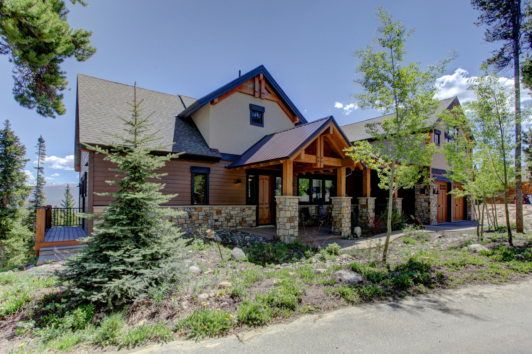 Single Family Home for Active at Peaceful Cul-De-Sac Home 0471 Slalom Drive Breckenridge, Colorado 80424 United States