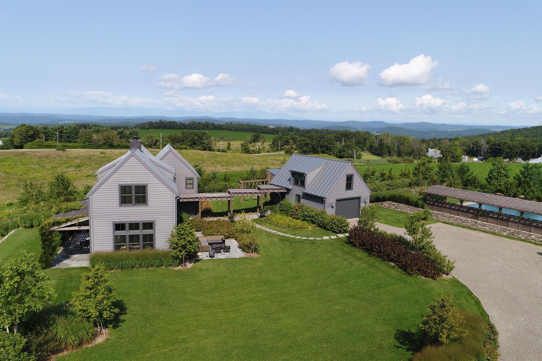 Single Family Home for Sale at Modern Mountain Gem 56 Carson Road Ancram, New York 12546 United States
