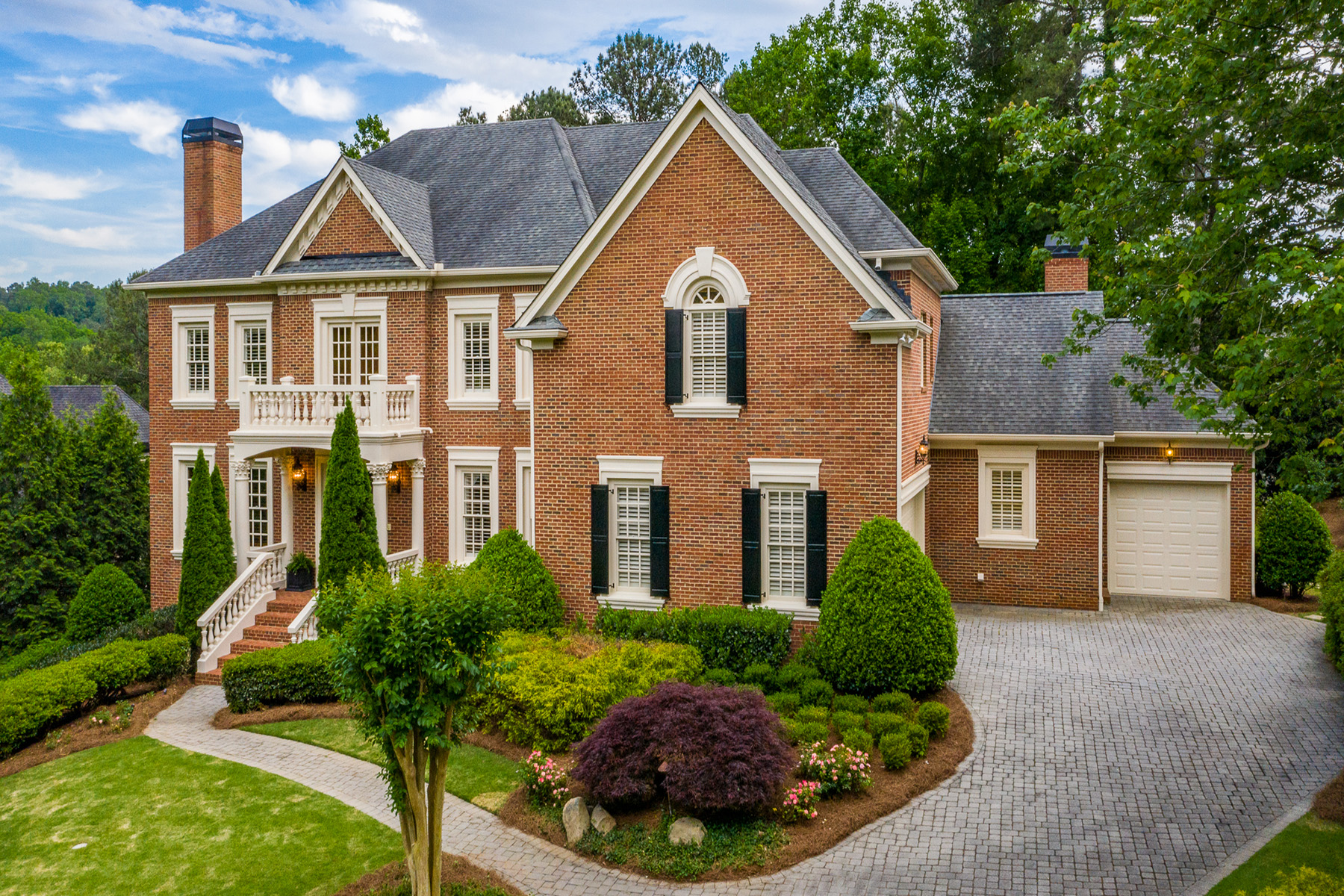 Single Family Homes for Active at Exquisite All Brick Masterpiece 4770 Rivercliff Landing Marietta, Georgia 30067 United States