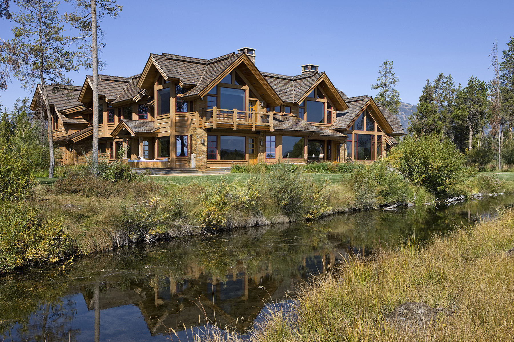 Single Family Homes للـ Sale في Teal Trace Sanctuary 400 Blue Heron Road, Wilson, Wyoming 83014 United States