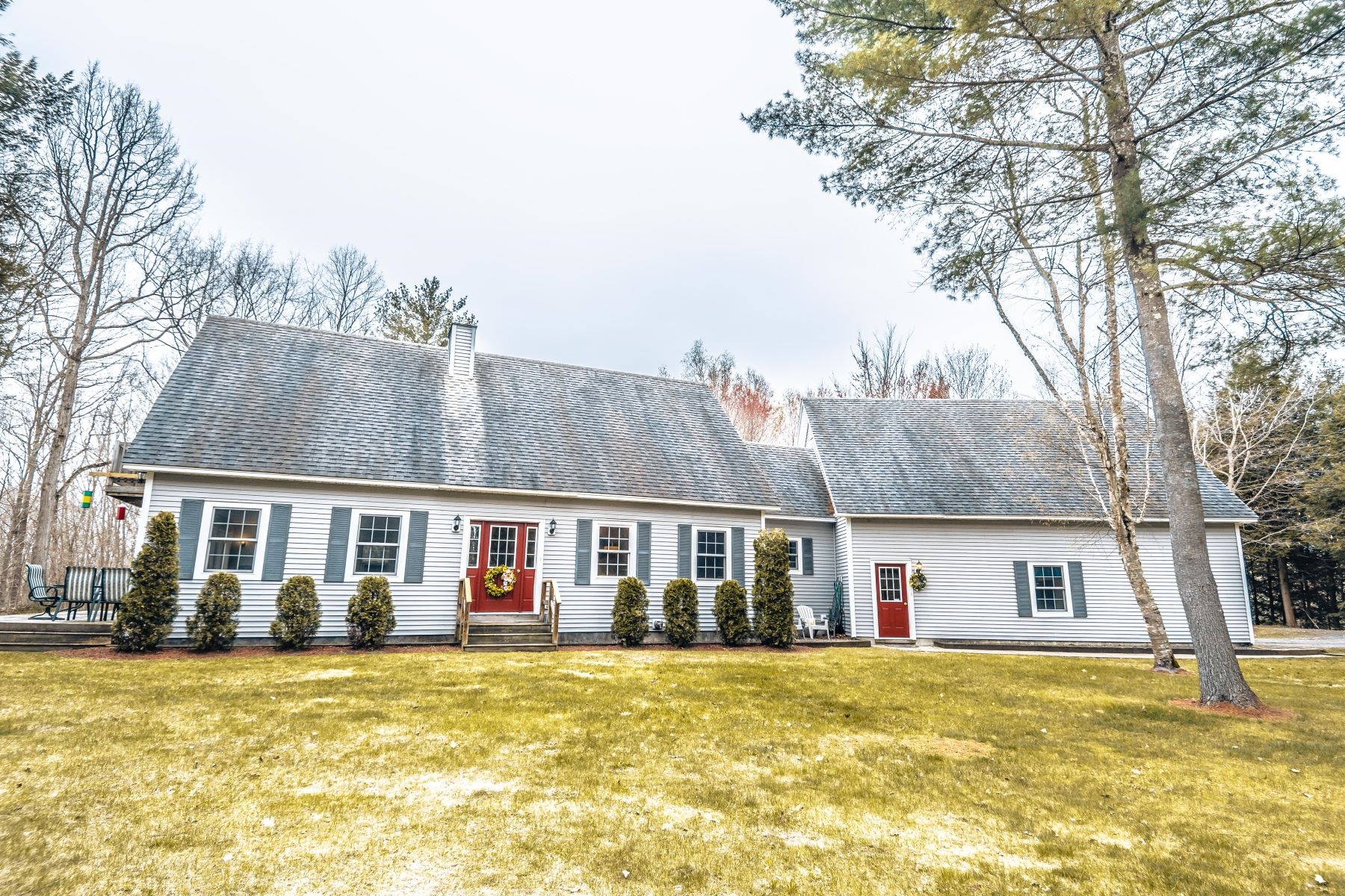 single family homes for Sale at Three Bedroom Cape in Newbury 6521 Us Route 5 S Newbury, Vermont 05051 United States