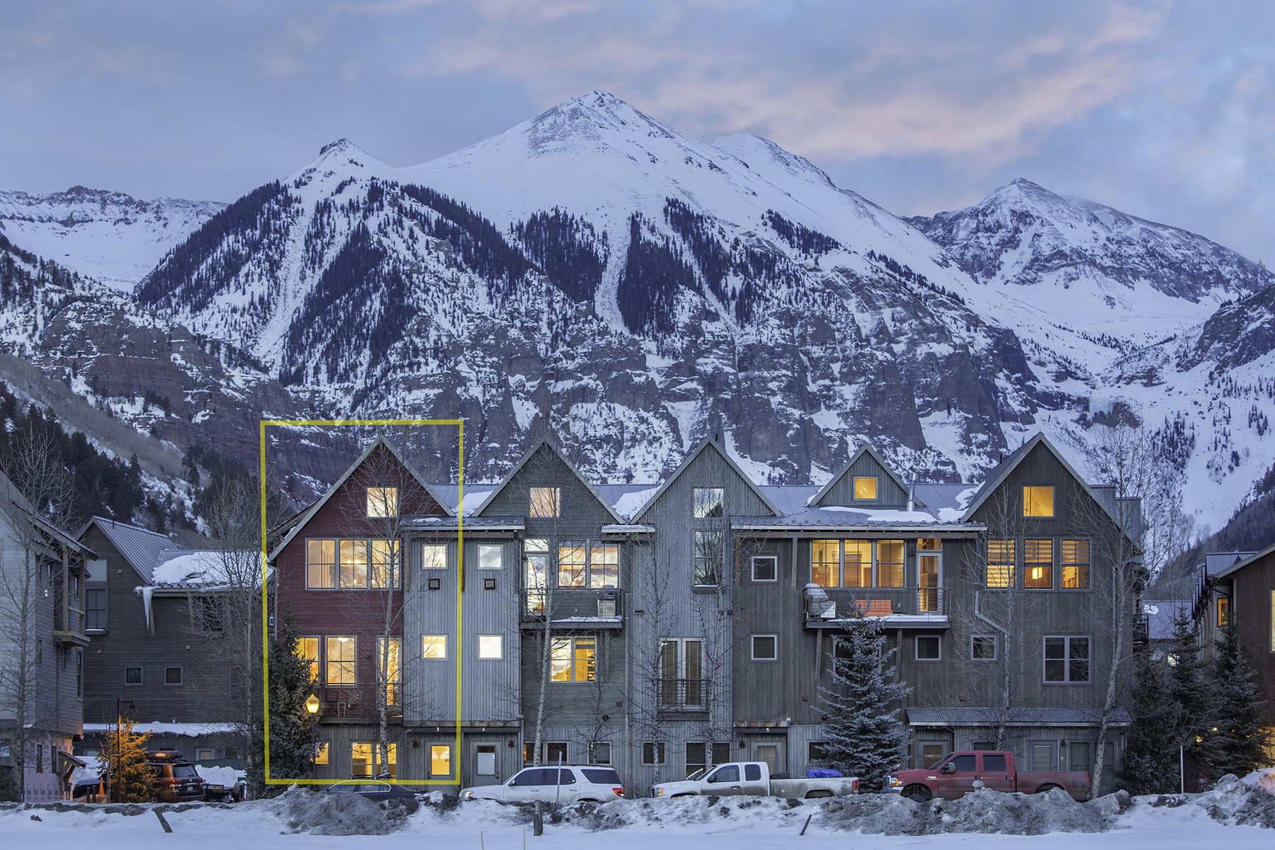 Townhouse for Sale at Owl Meadows 3 240 South Mahoney Drive, Unit 3 Telluride, Colorado, 81435 United States