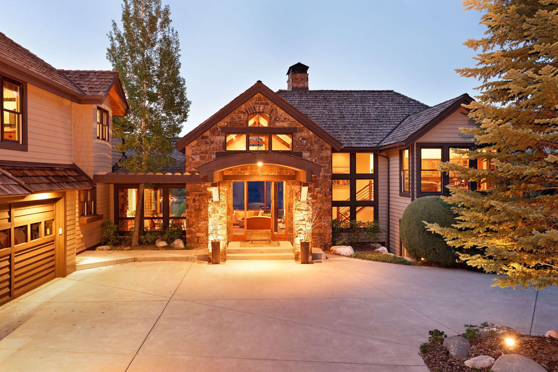 Casa Unifamiliar por un Venta en Spectacular Aspen Glen Home 198 Midland Loop Carbondale, Colorado 81623 Estados Unidos