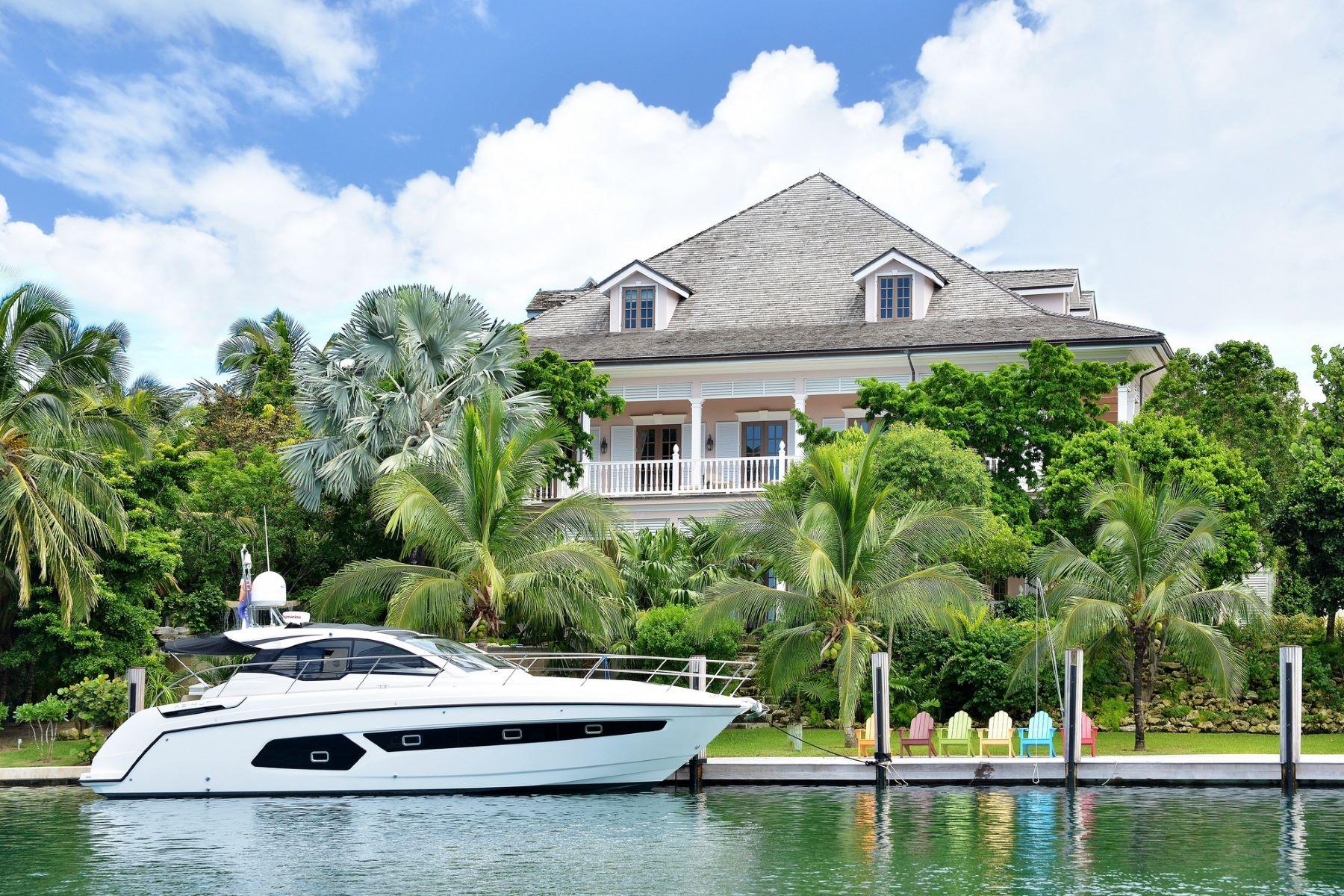 Single Family Home for Sale at Deja Vu Deja Vu Shamrock Road Lyford Cay, Nassau And Paradise Island . Bahamas