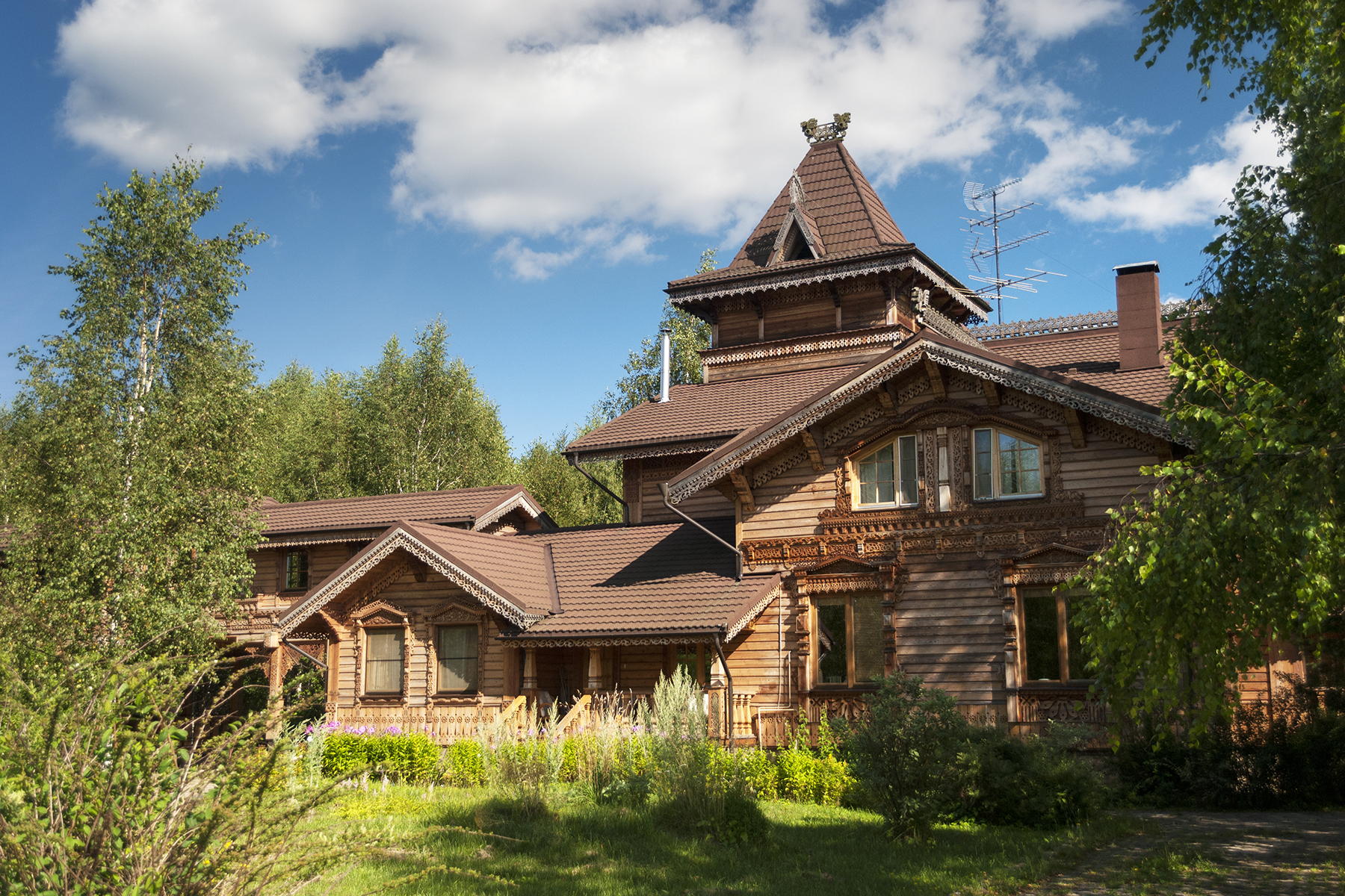 Single Family Home for Sale at Russian Style Homestead Moscow, Moscow City Russia