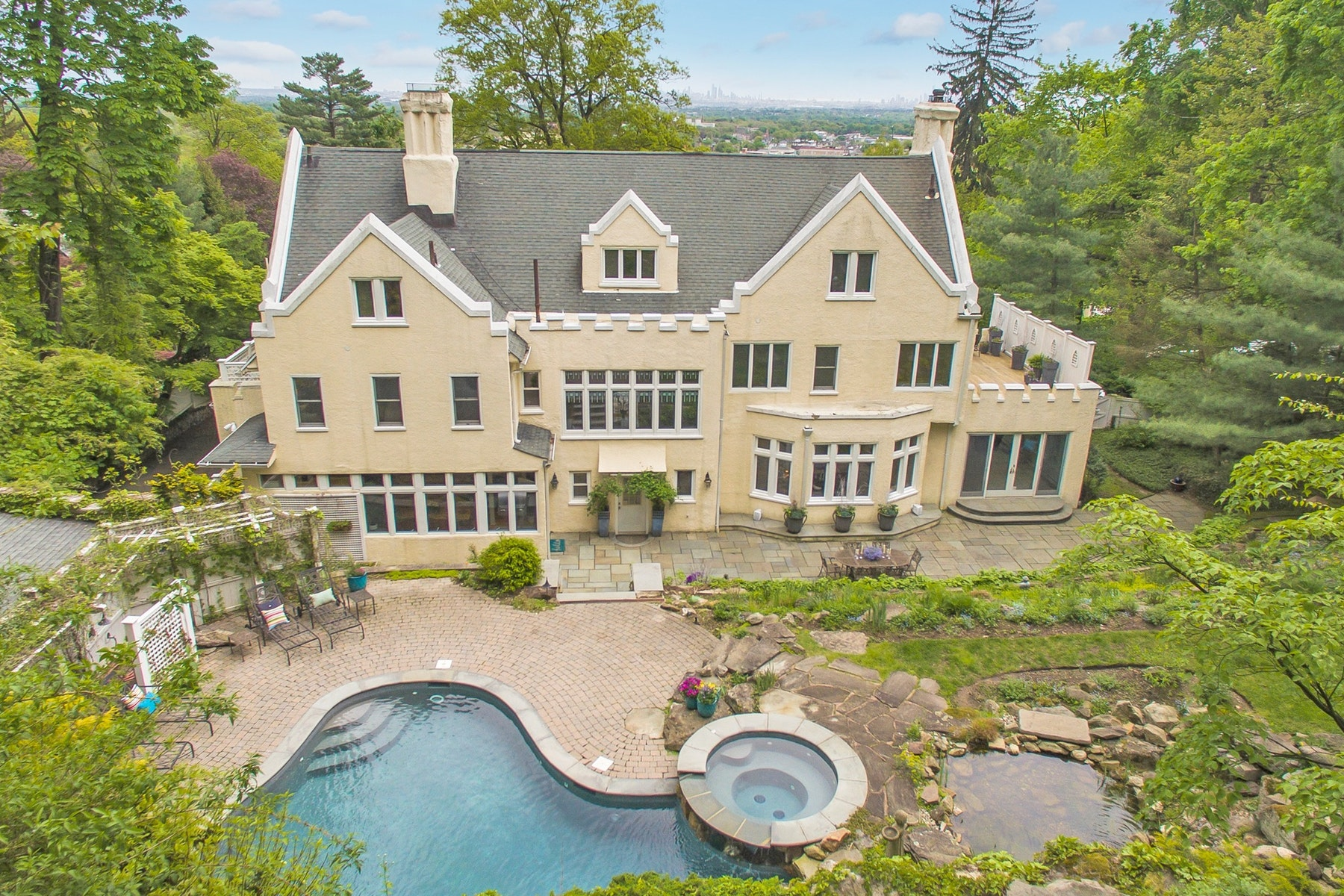 Single Family Homes for Sale at Resort Living with Skyline Views 60 Lloyd Road Montclair, New Jersey 07042 United States