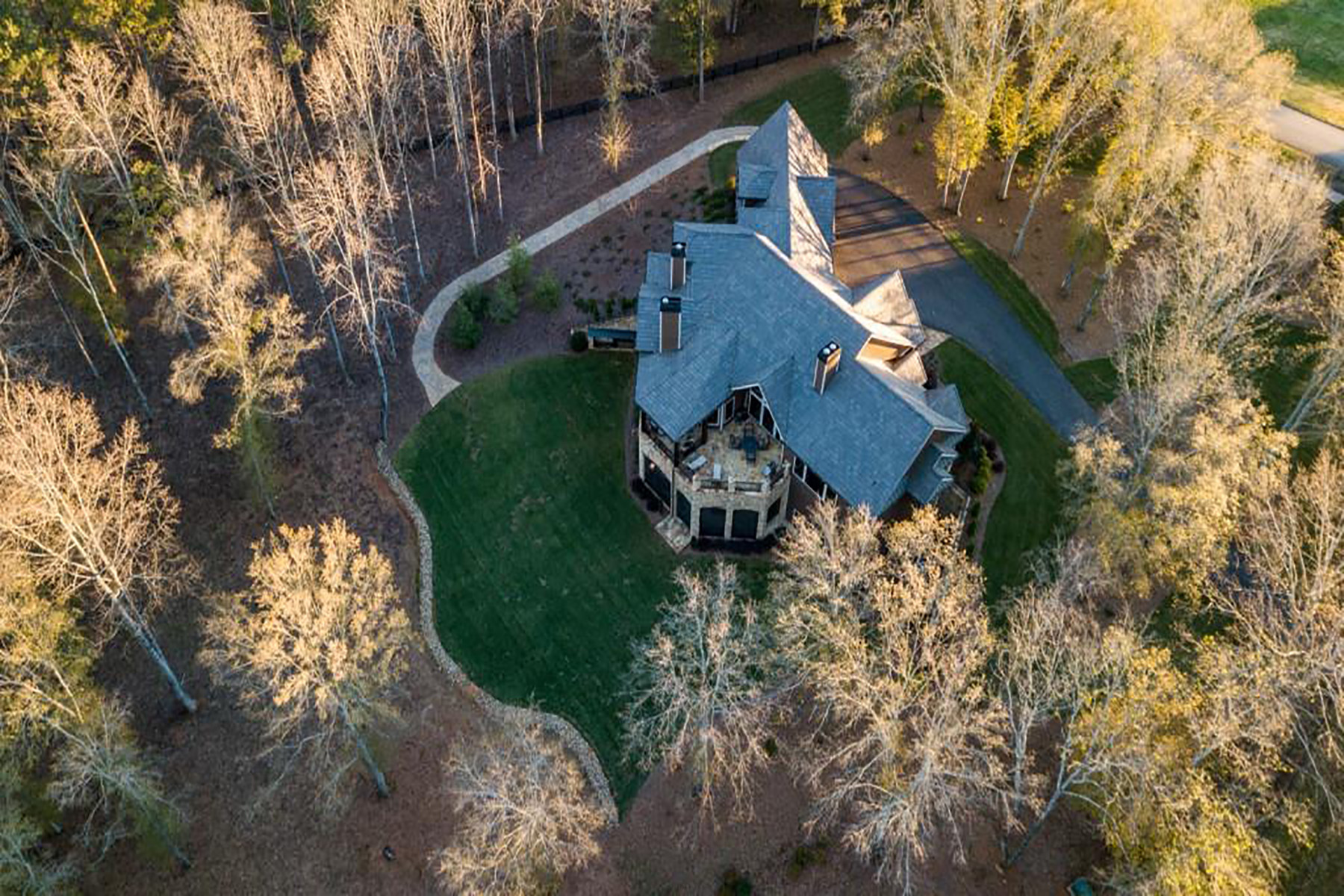 Single Family Homes for Sale at Custom Craftsman On The Etowah River 210 Etowah Landing Ball Ground, Georgia 30107 United States