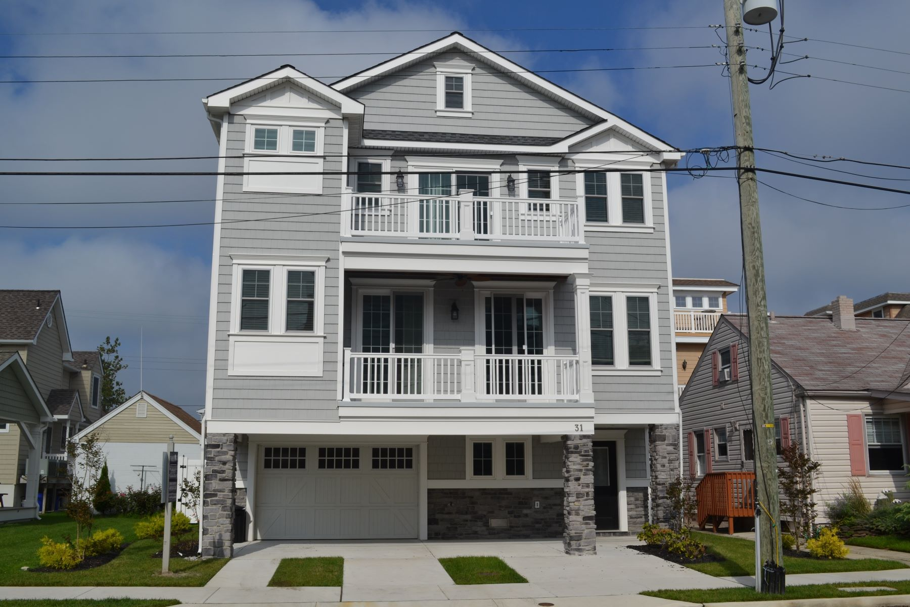 Single Family Home for Sale at 31 N 33rd Ave Longport, New Jersey 08403 United States