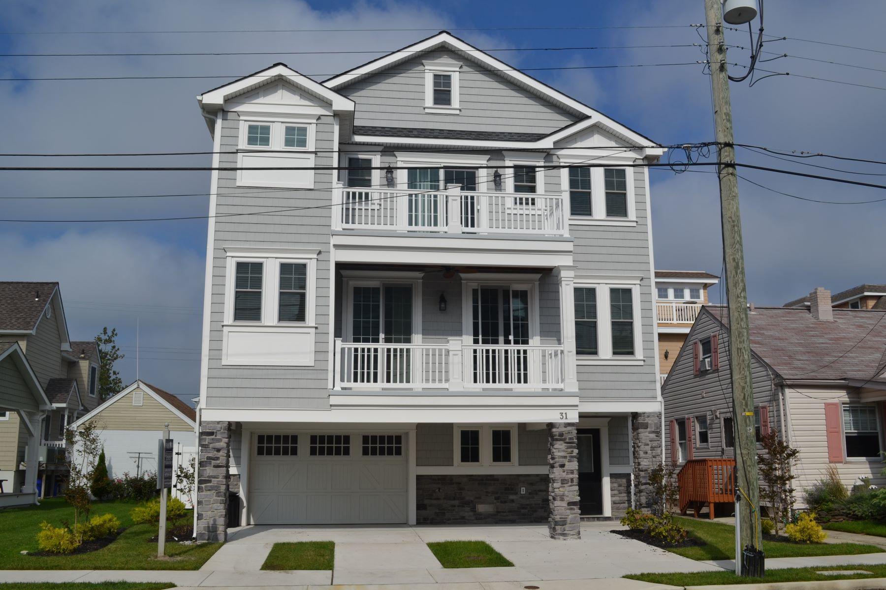 Частный односемейный дом для того Продажа на 31 N 33rd Ave Longport, Нью-Джерси 08403 Соединенные Штаты