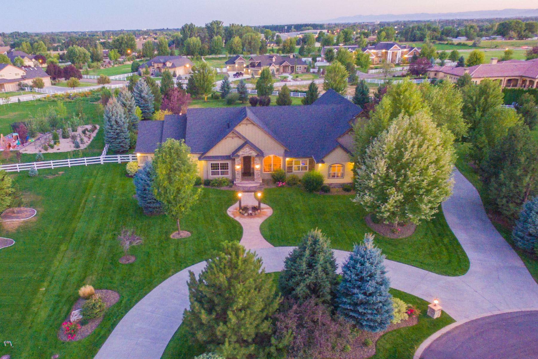 Maison unifamiliale pour l Vente à 3665 Fieno Court, Eagle 3665 W Fieno Ct Eagle, Idaho, 83616 États-Unis