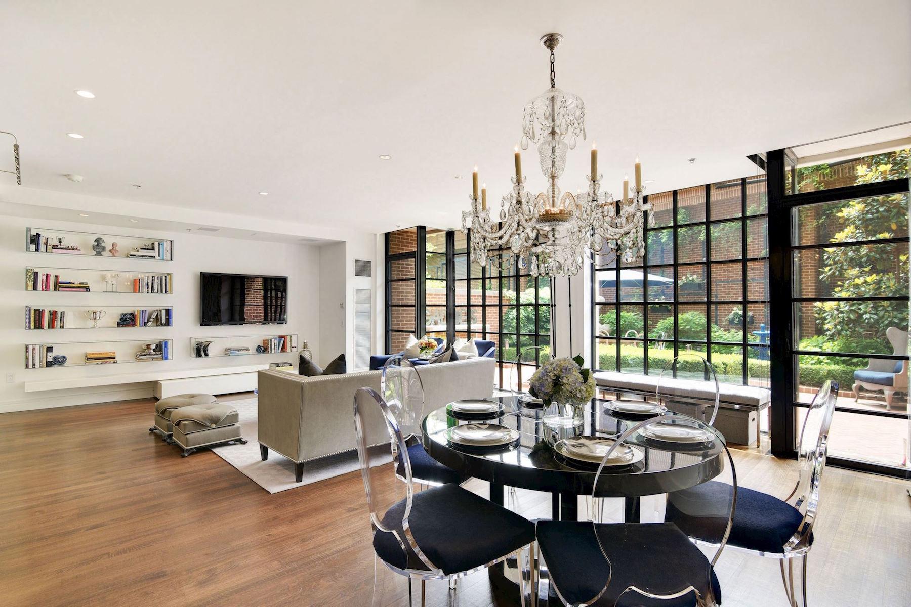 共管式独立产权公寓 为 销售 在 Luxurious Urban Duplex 3303 Water Street Nw 3H 华盛顿市, 哥伦比亚特区, 20007 美国