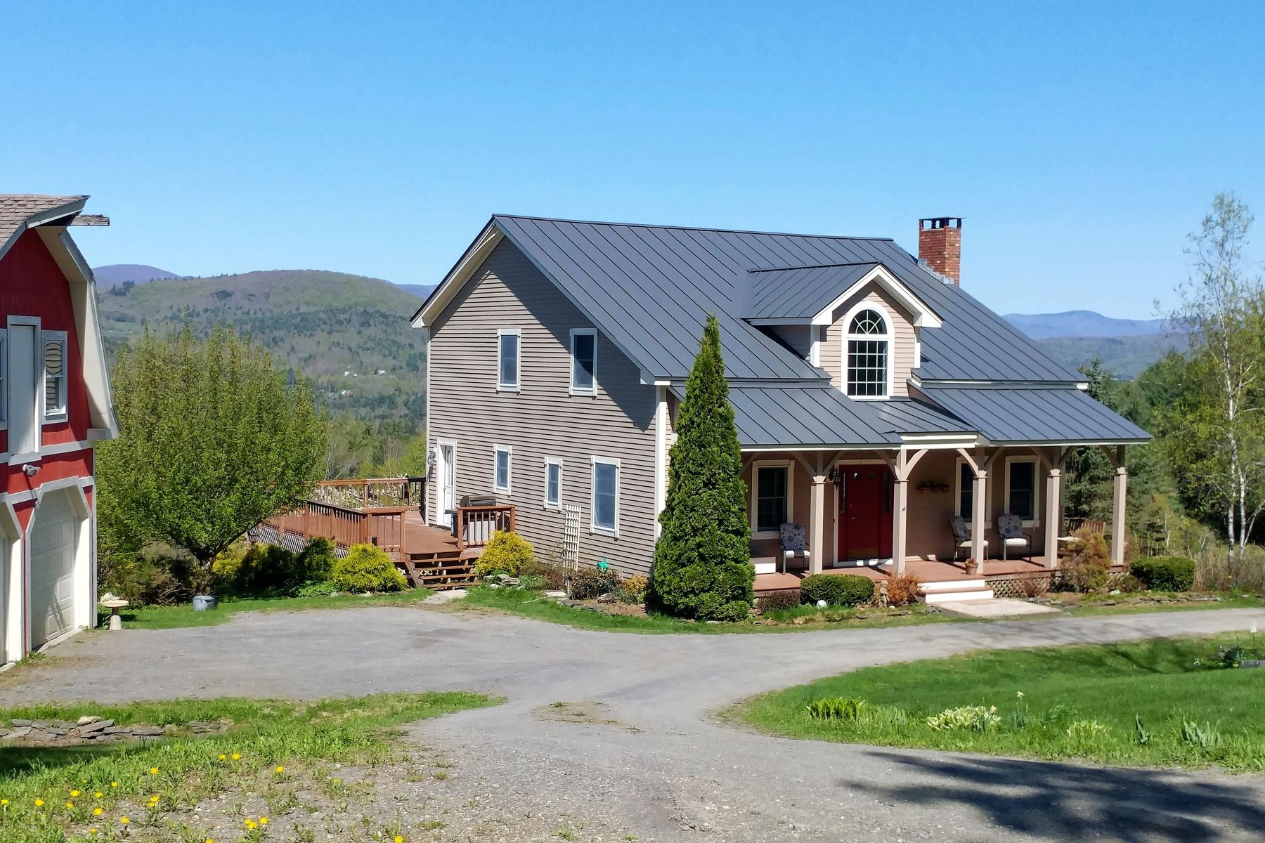 Single Family Homes for Sale at Three Bedroom Cape with View in Randolph 3562 Fish Hill Rd Randolph, Vermont 05060 United States