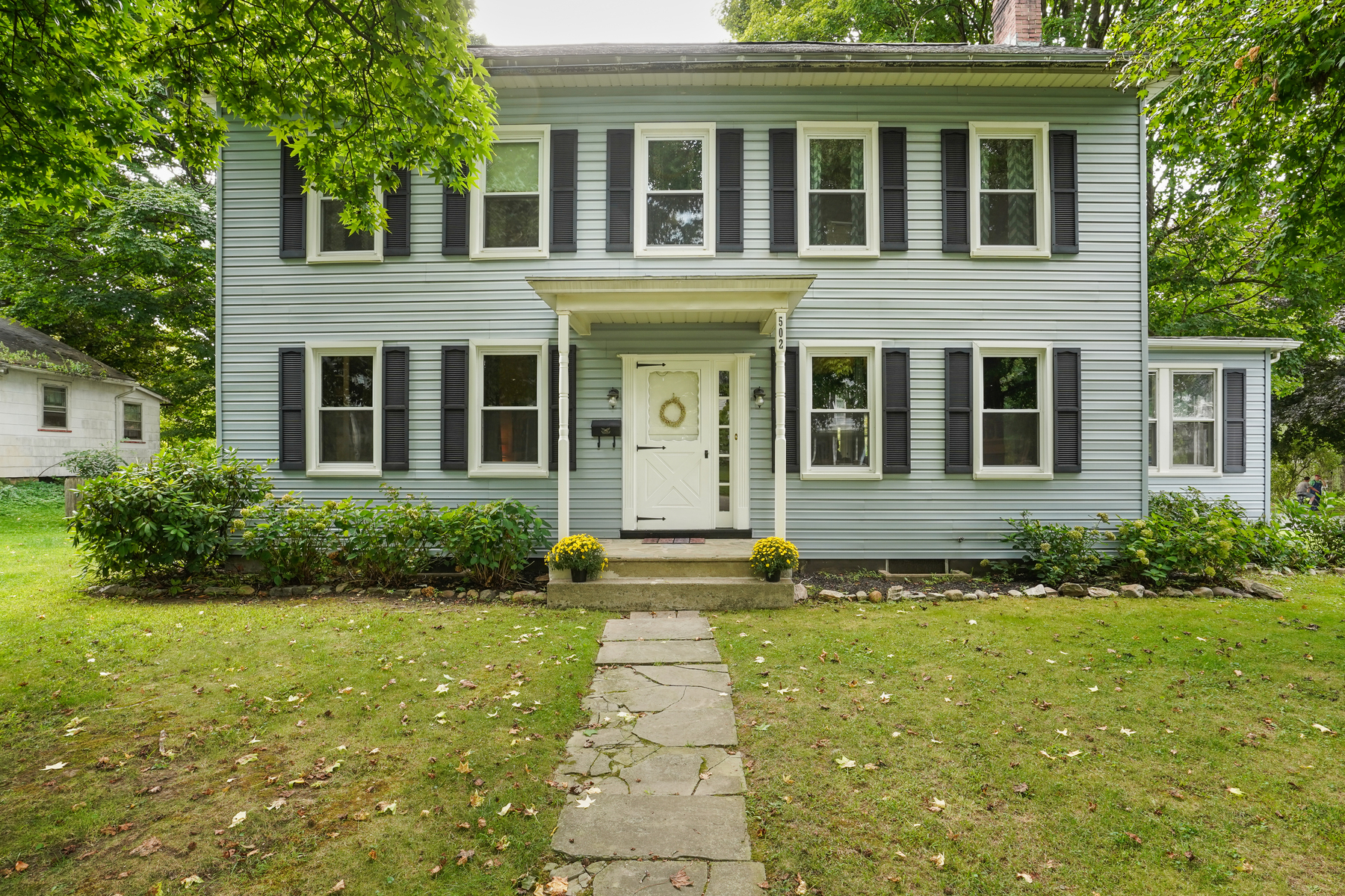 Single Family Homes for Sale at Character and Charm Abound 502 Mansfield Street, Belvidere, New Jersey 07823 United States