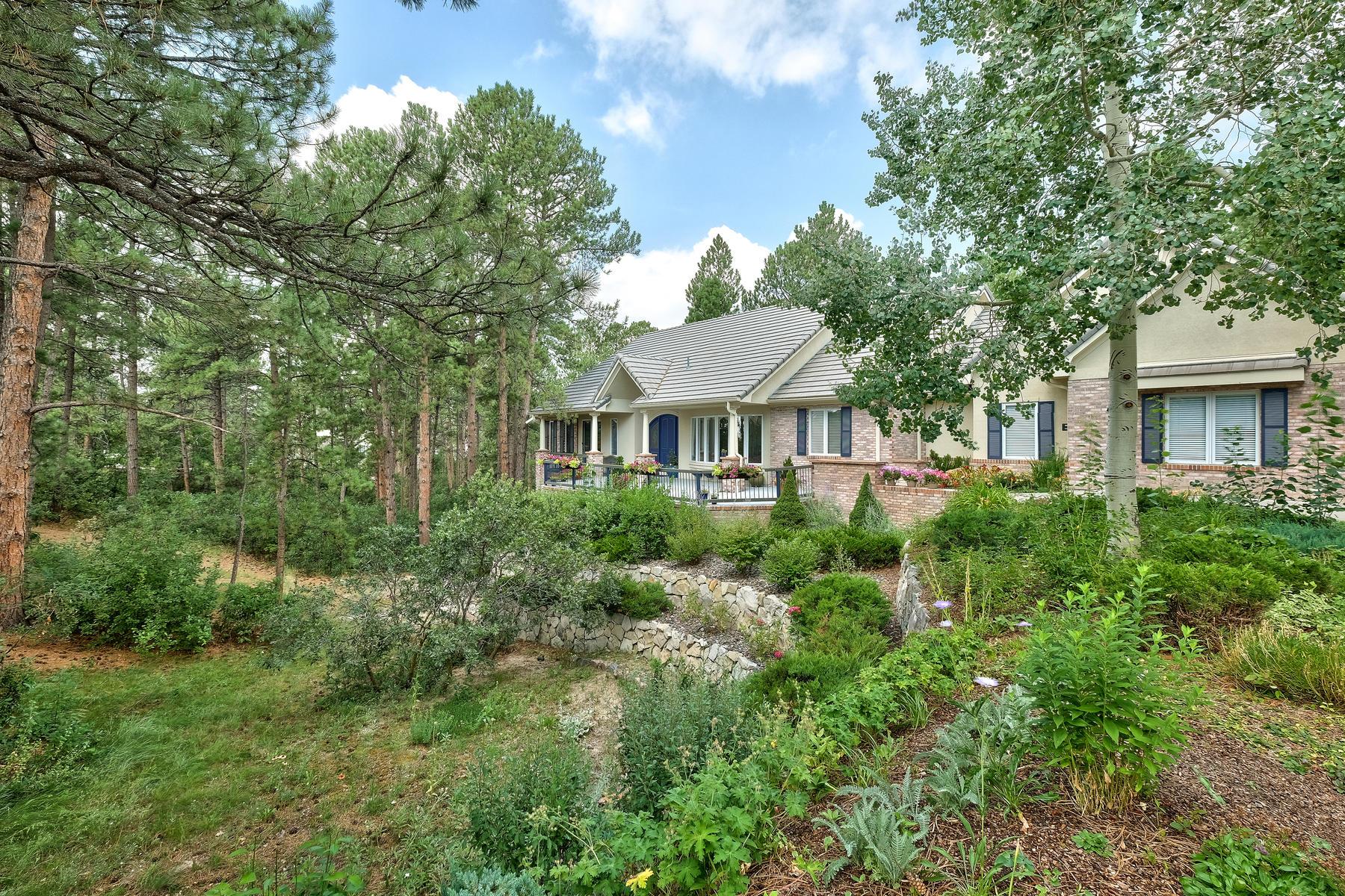 Частный односемейный дом для того Продажа на 315 Prospect Dr Castle Pines Village, Castle Rock, Колорадо, 80108 Соединенные Штаты