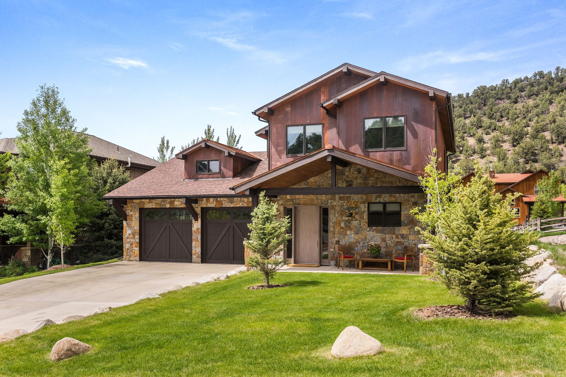 Single Family Homes for Active at Beautiful Pinyon Mesa Home 53 Cliff Rose Way Glenwood Springs, Colorado 81601 United States