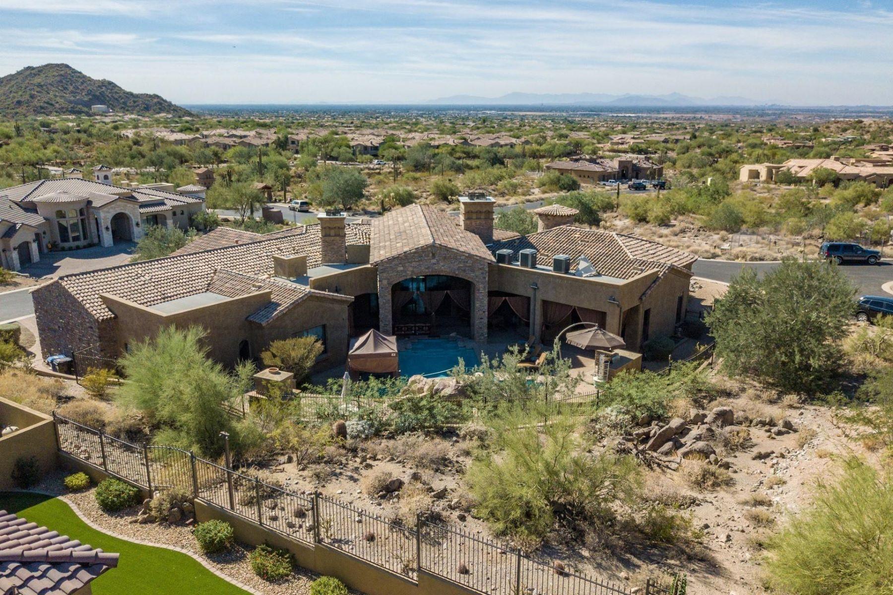 single family homes for Active at Eagle Canyon @ Las Sendas 4327 N Sonoran Heights Cir Mesa, Arizona 85207 United States