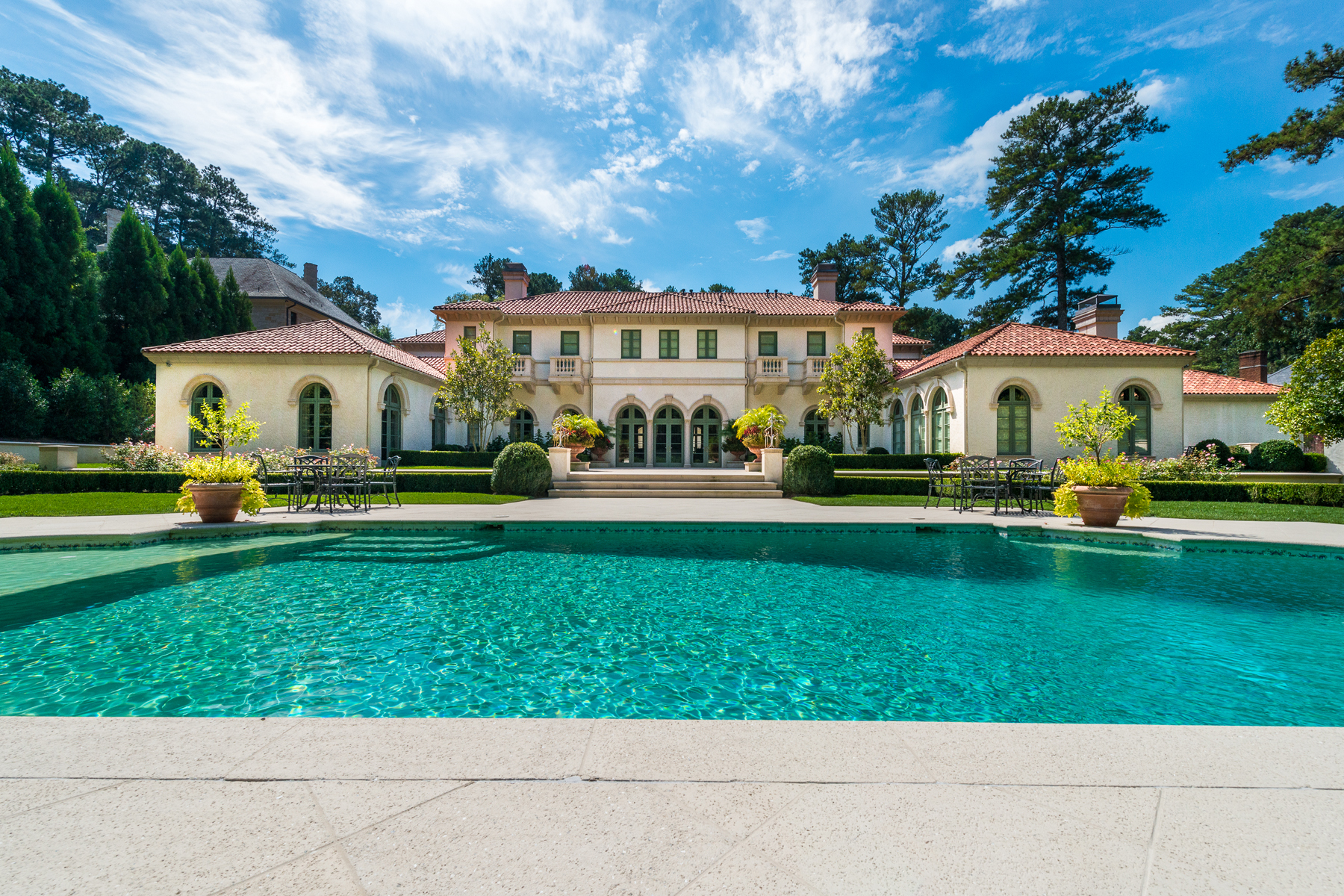 Single Family Home for Sale at The Most Elegant Home In Tuxedo Park 439 Blackland Road NW Tuxedo Park, Atlanta, Georgia, 30342 United States