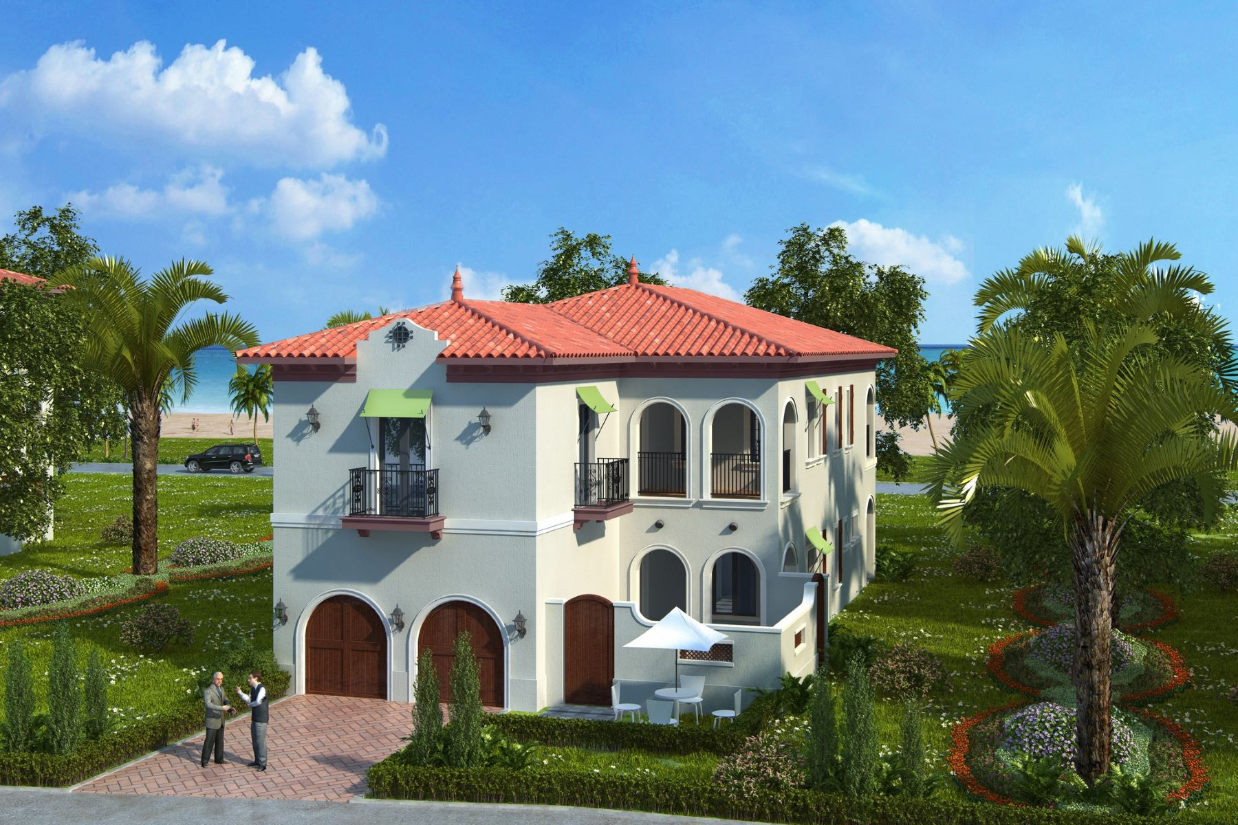 Single Family Homes for Sale at New Luxury Homes Available in Matanilla Reef at Aquarina! 7422 Matanilla Reef Way Melbourne Beach, Florida 32951 United States