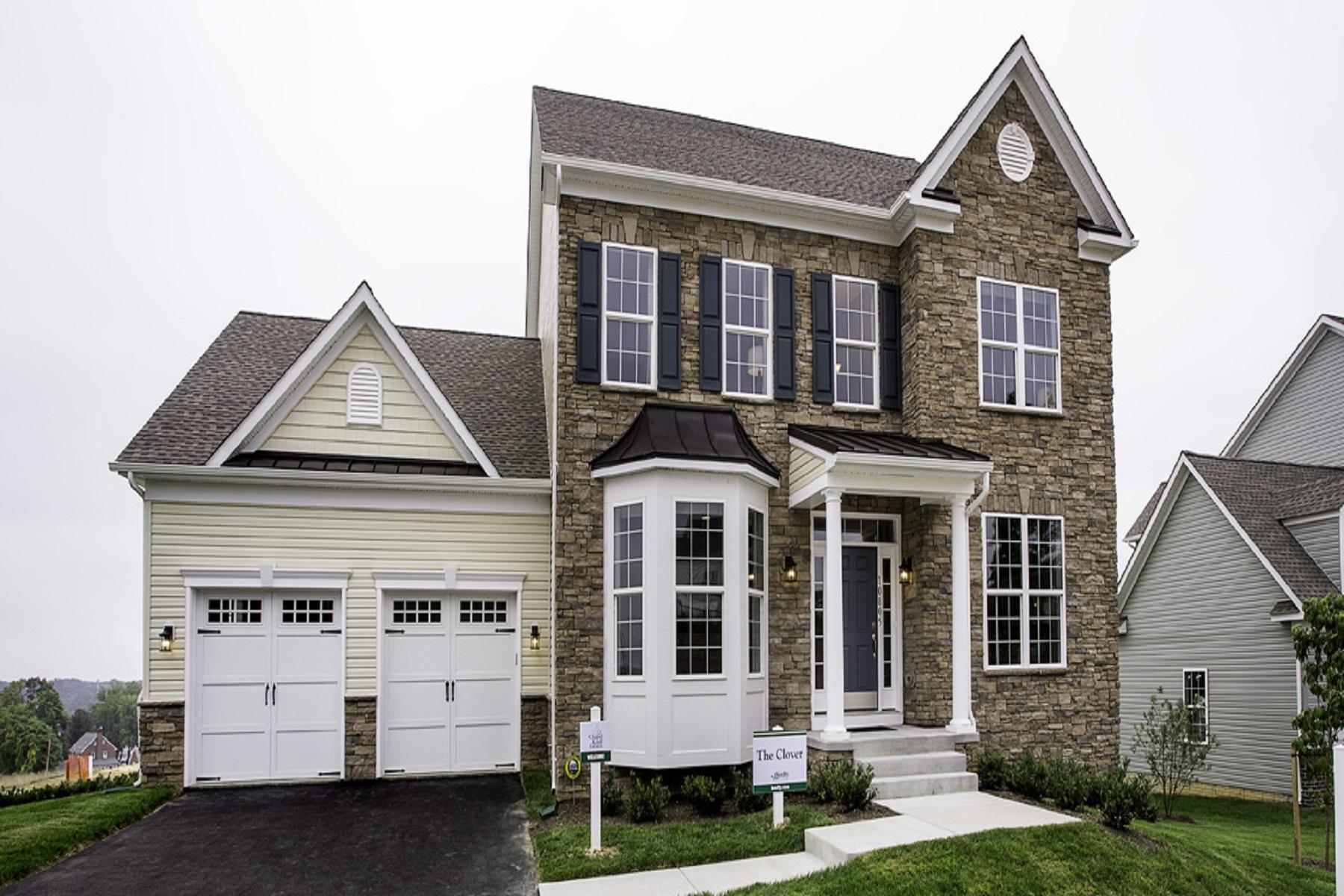 Single Family Homes por un Venta en Chapel Knoll Estates 10816 White Trillium Road Perry Hall, Maryland 21128 Estados Unidos